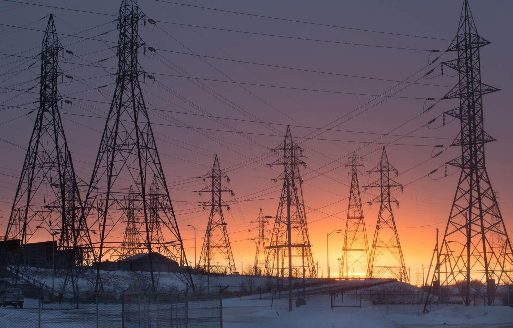 Hydro-Québec a exporté en 2018 un total de 36,1 TWh, un sommet, dont une part de 19% est allée à l'Ontario.