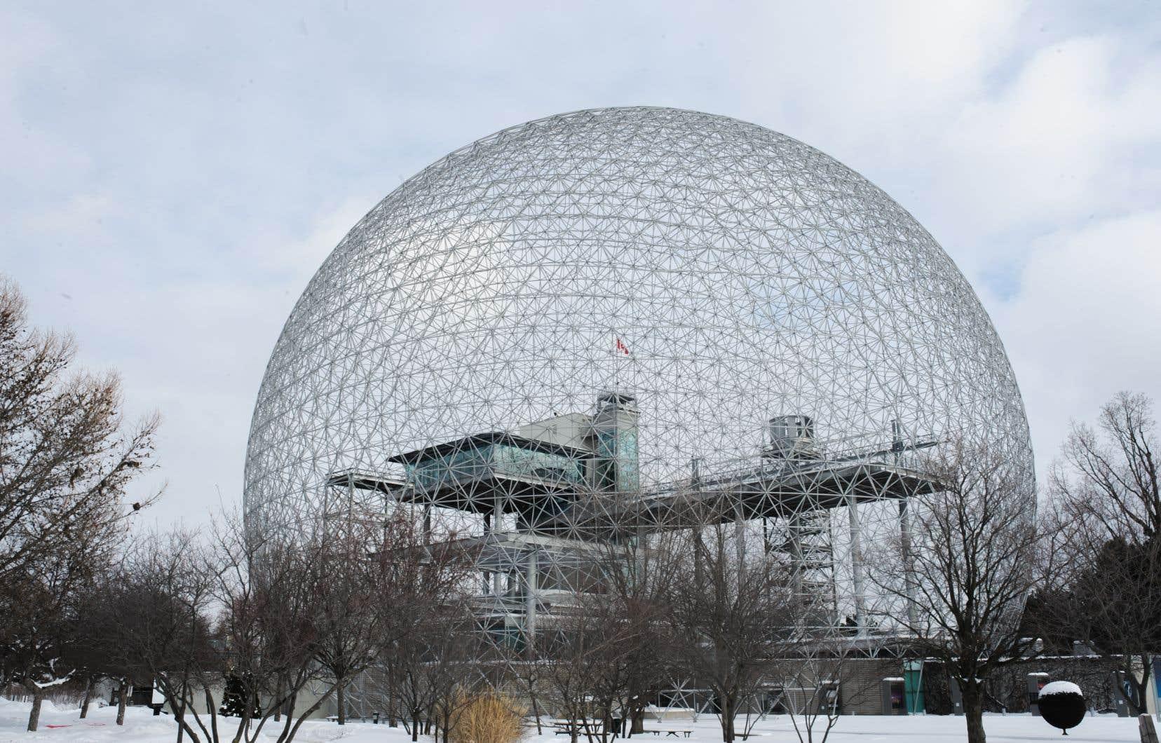 «Je crois vraiment qu'il s'agit d'une des oeuvres architecturales les plus importantes de la planète», soutientle président du conseil du Buckminster Fuller Institute,David McConville.