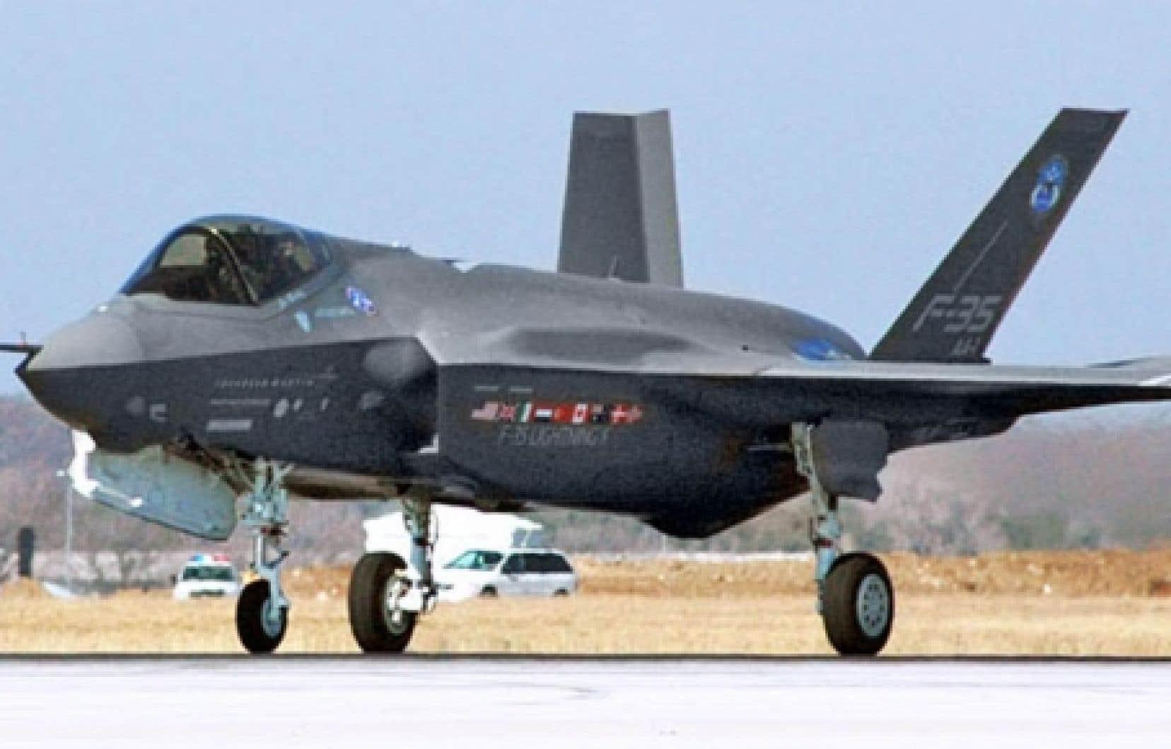 Ottawa achètera le F-35 Joint Strike Fighter de la multinationale américaine Lockheed Martin.<br />