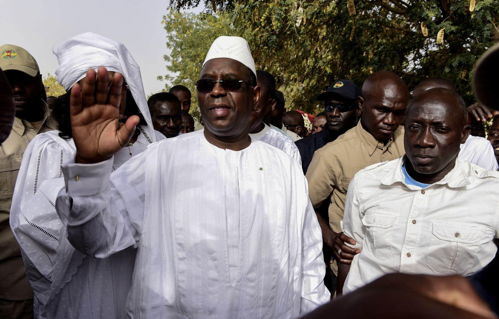 Le président sénégalais sortant Macky Sall a remporté son pari d'être réélu dès le premier tour.