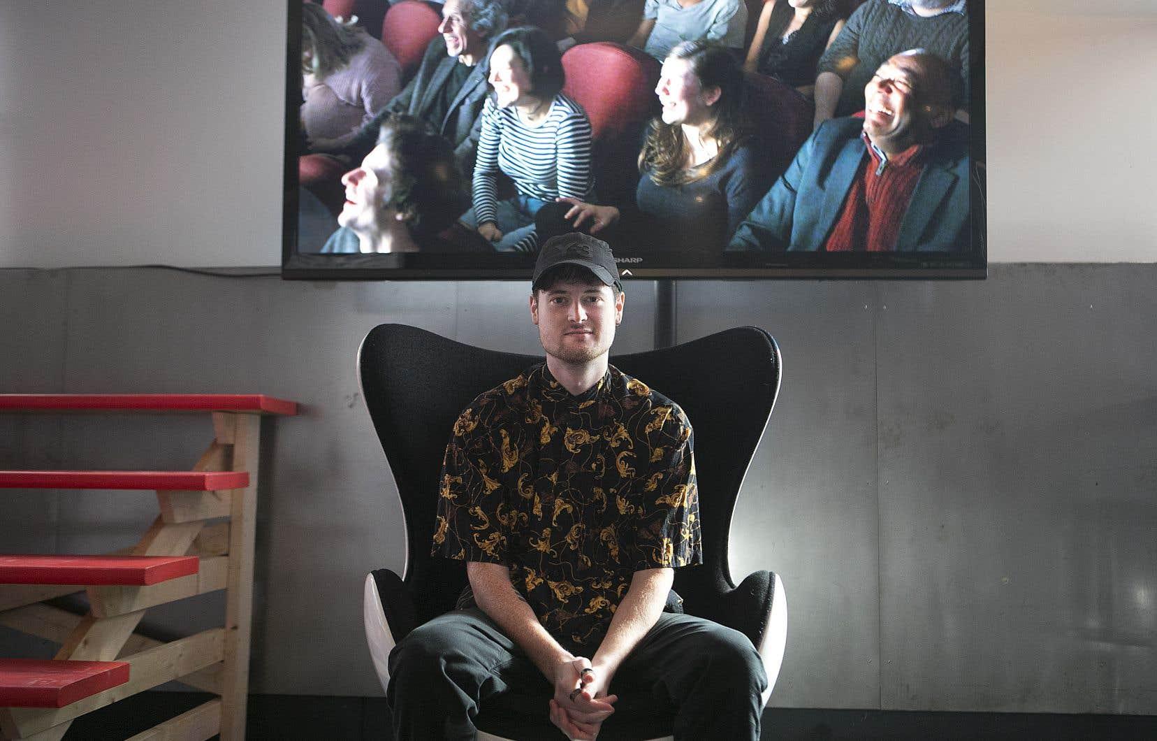 Loïc Darses, 25 ans, cinéaste