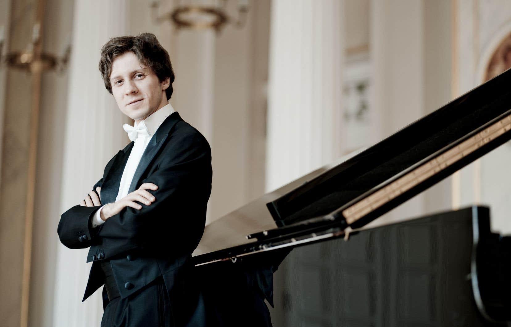 Le pianiste Rafal Blechacz