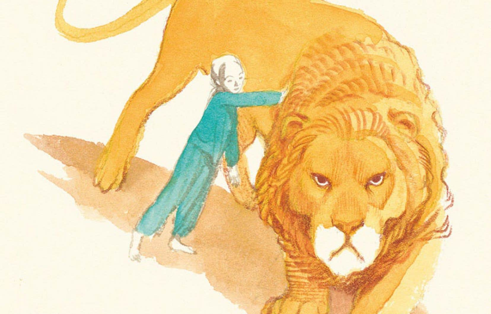 «Le lion de Jacob» plonge le lecteur dans un univers métaphorique et symbolique, là où texte et images suggèrent plus qu'ils ne disent, transportent plus qu'ils ne dirigent ou, pire, confinent.