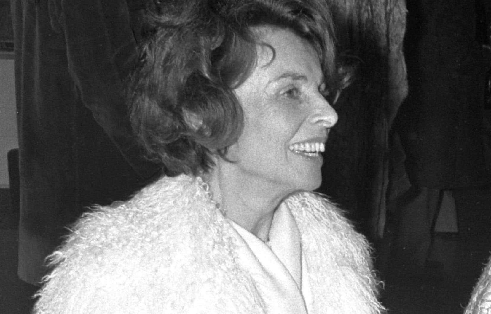 La productrice Mag Bodard en 1972