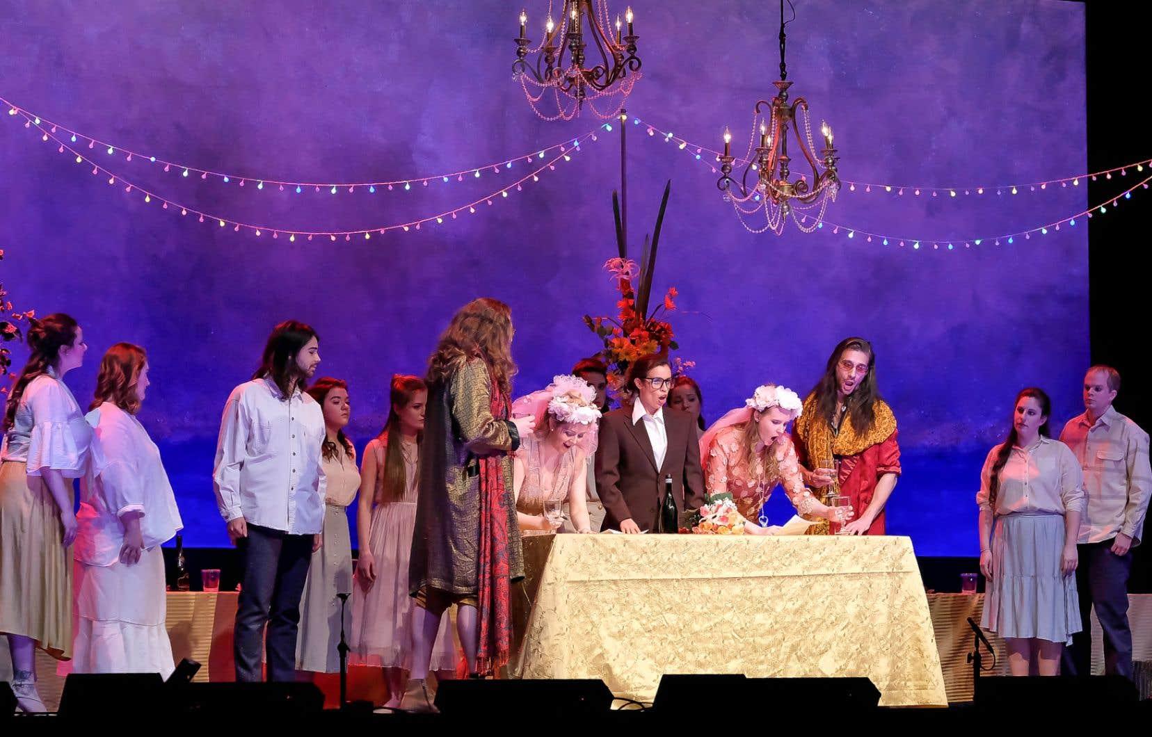La première de «Così fan tutte» à l'Université de Montréal montre à quel point l'opéra chez Mozart, et notamment celui-ci, est une véritable alchimie.