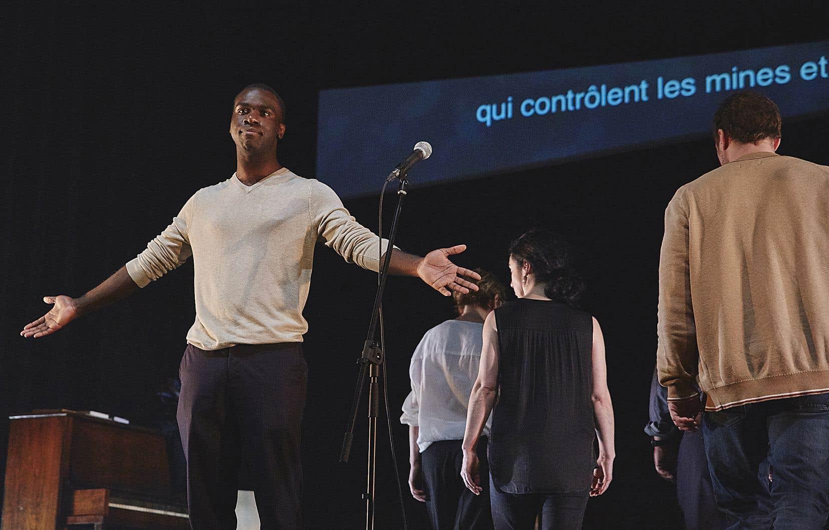Thierry Mabonga incarne un Écossais d'origine congolaise.