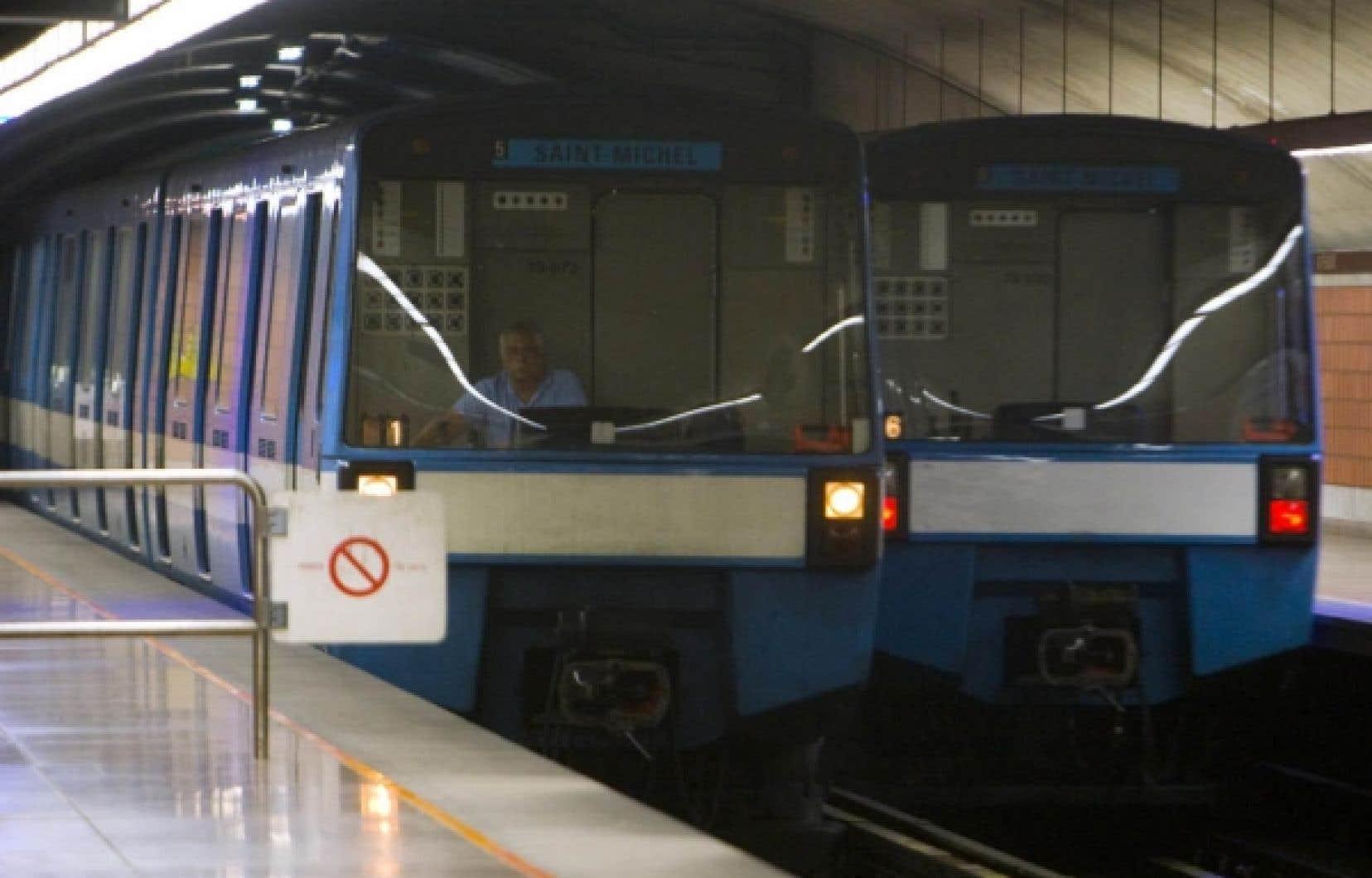Selon l'évaluation comparative de 26 métros du monde réalisée par le Collège impérial de Londres, le métro de Montréal se classe au premier rang au chapitre de la productivité.<br />