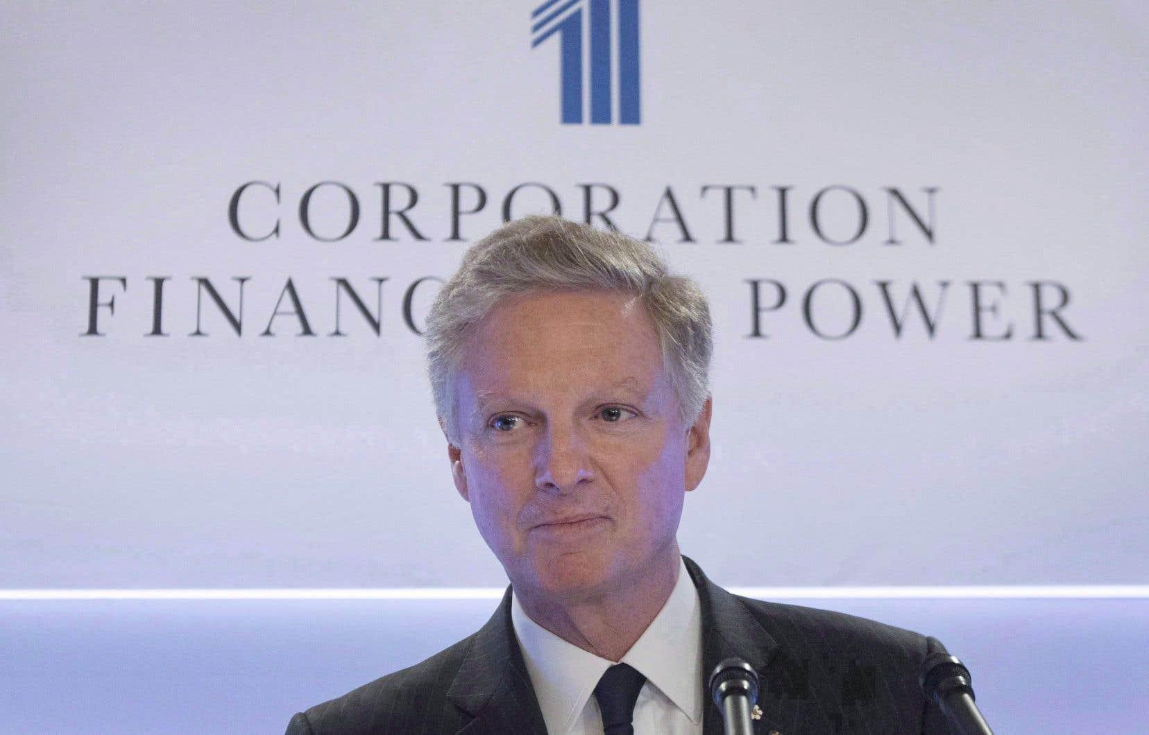 Le président du conseil et co-chef de la direction de Power Corporation, Paul Desmarais fils