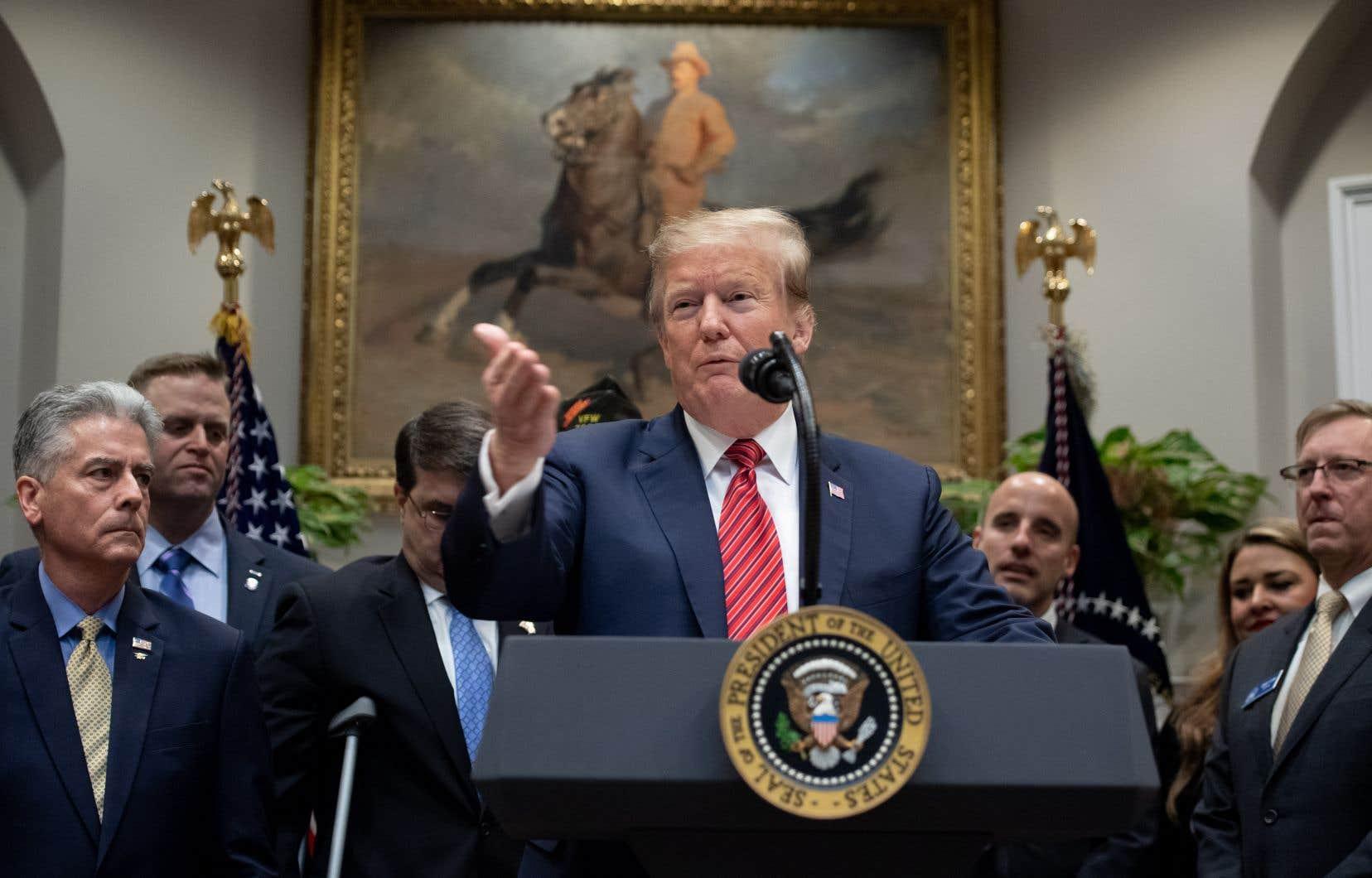 Le président républicain a accusé les démocrates de mener le «plus grand abus de pouvoir de l'histoire» des États-Unis.