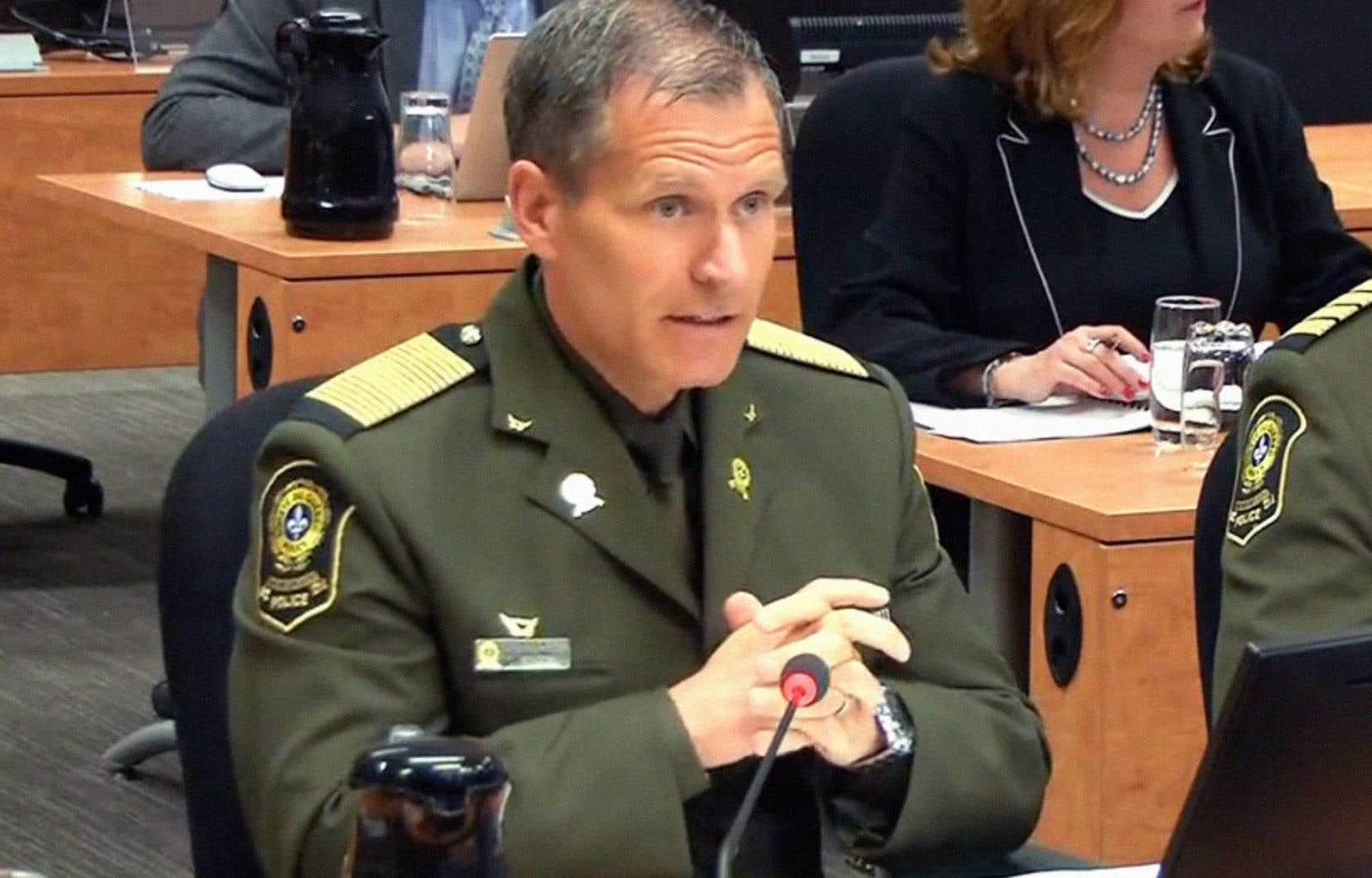 Le directeur général de la Sûreté du Québec, Martin Prud'homme