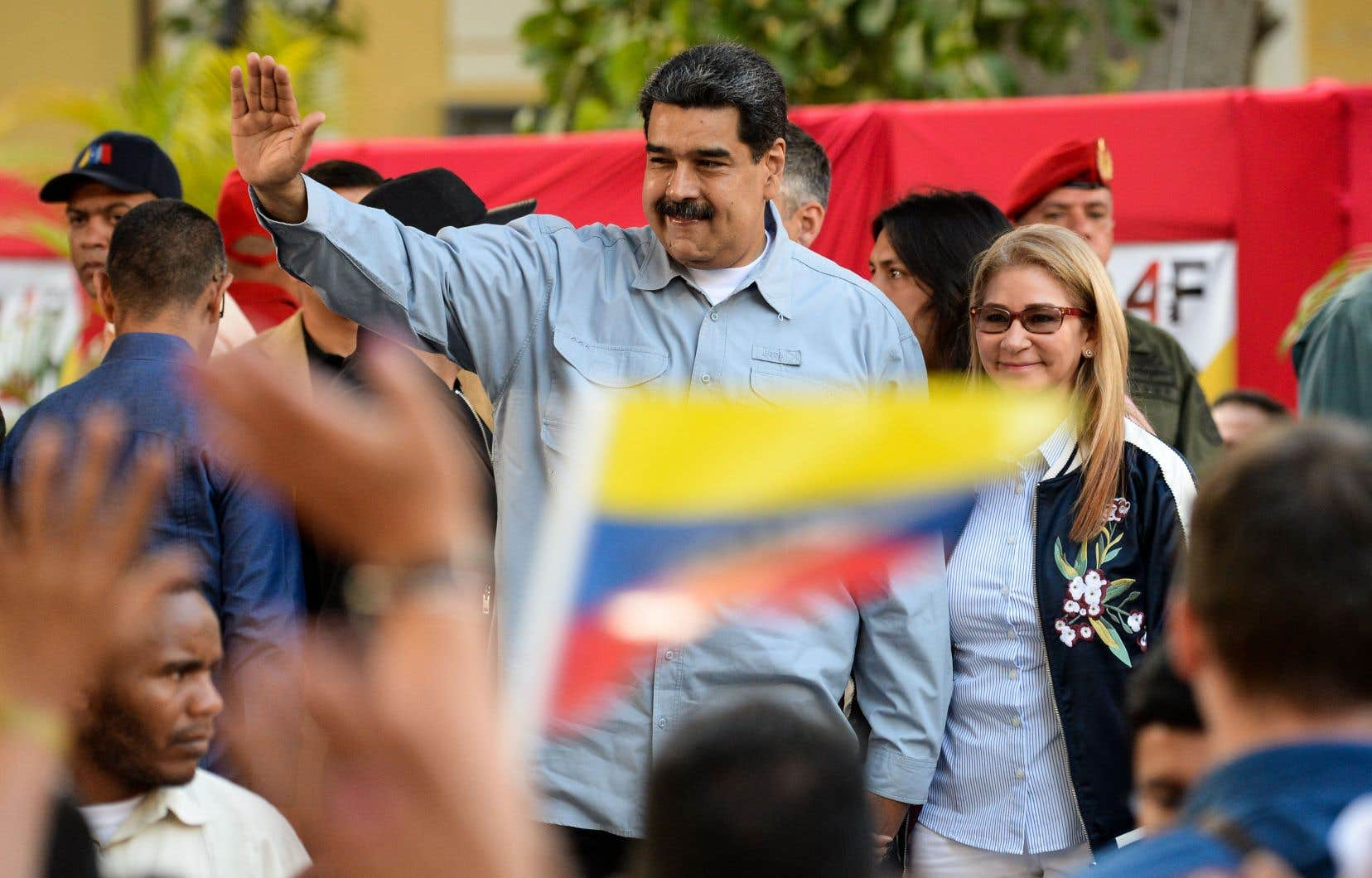 """«Nous allons continuer à demander des comptes à l'ensemble du régime Maduro jusqu'à ce que la """"libertad"""" soit rétablie au Venezuela», a martelé le vice-président Mike Pence."""