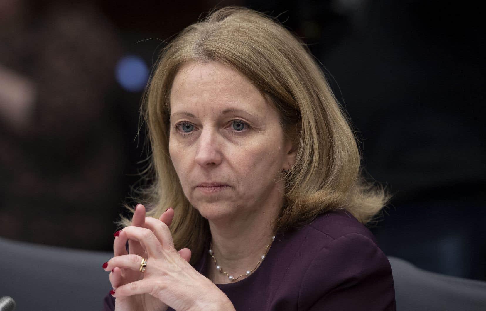 La sous-ministre de la Justice, Nathalie Drouin