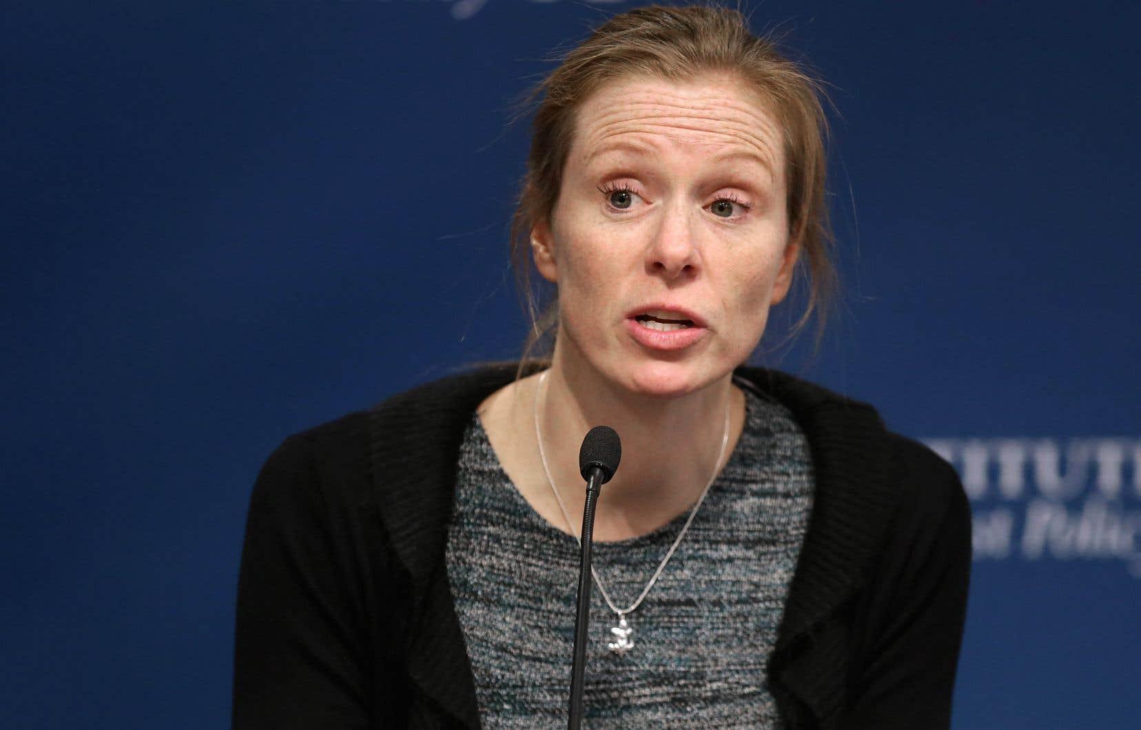 Monika Bickert, responsable de la Global Policy Management chez Facebook
