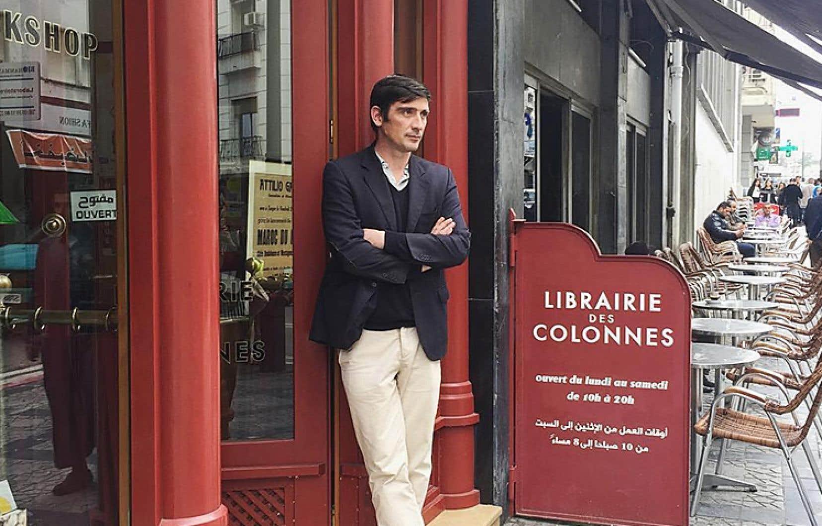 Écrivain, éditeur et cofondateur de la revue «Nejma», Simon-Pierre Hamelin a peu fréquenté l'école, mais beaucoup les textes. Il est l'une des raisons pour lesquelles la librairie qu'il dirige est devenue célèbre dans le monde entier.