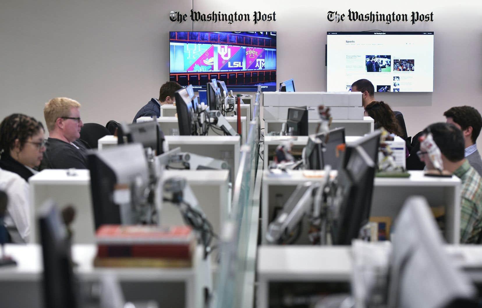 Au «Washington Post», un programme appelé Heliograf a permis au quotidien de couvrir plus de 500 courses électorales depuis 2014.