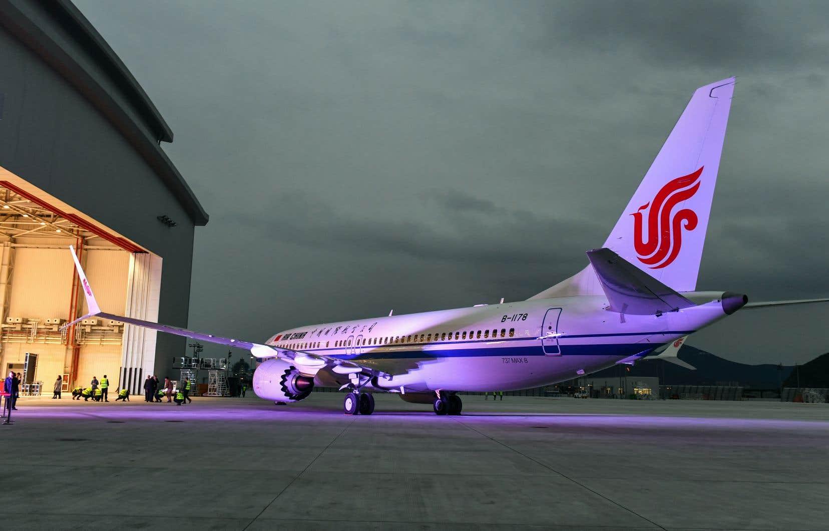 Pékin a demandé lundi aux compagnies aériennes chinoises de suspendre les vols de leurs Boeing 737 MAX 8.