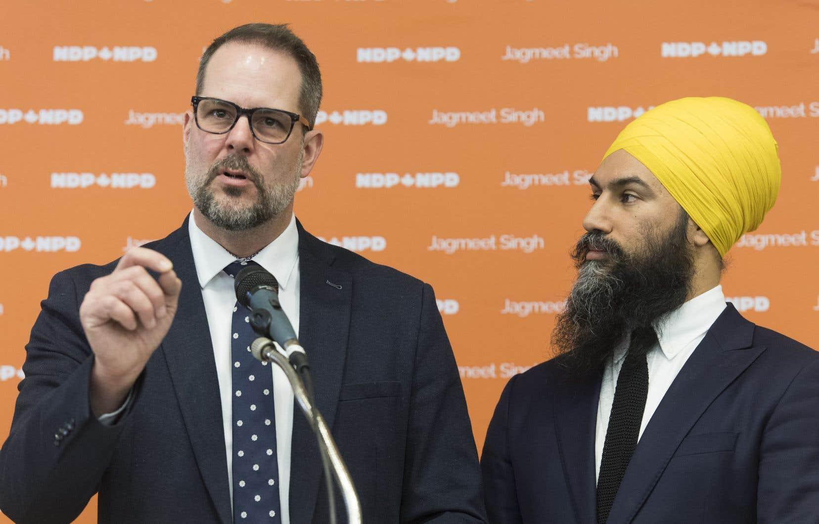 Le chef du NPD, Jagmeet Singh, a nommé Alexandre Boulerice chef-adjoint dans l'espoir de renouer avec les Québécois.