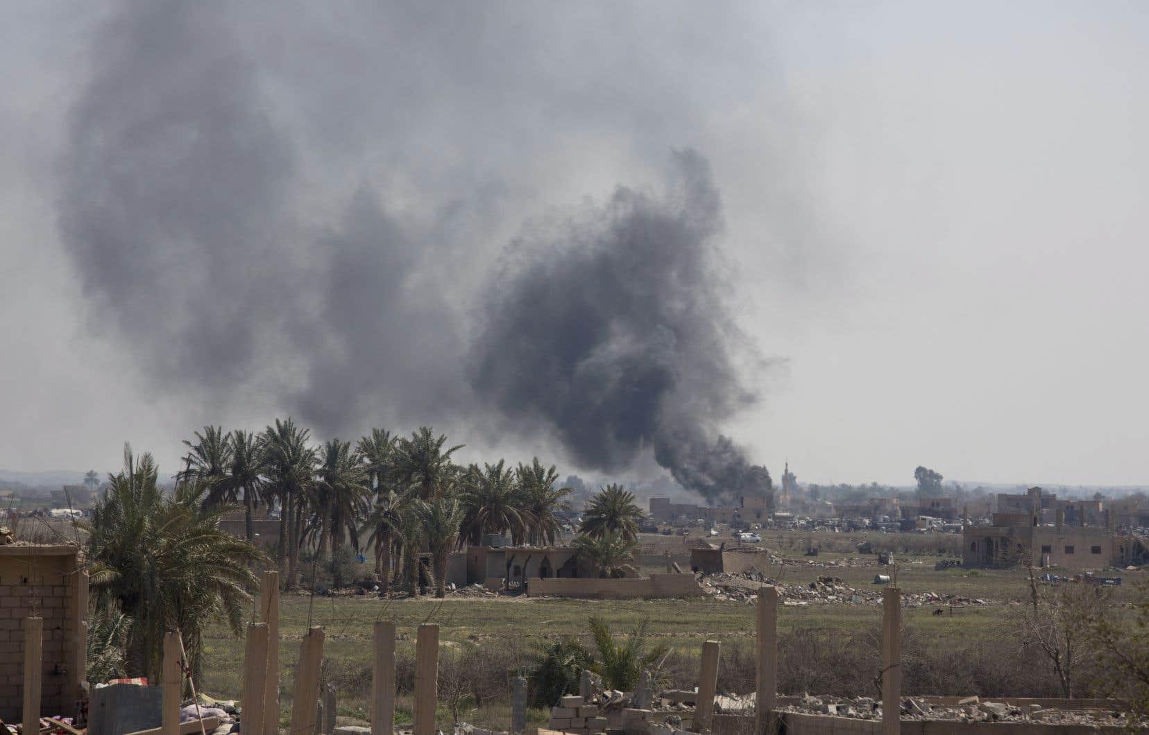Les Forces démocratiques syriennes (FDS) sont engagées depuis décembre dans une offensive contre le groupe EI avec le soutien d'une coalition internationale antidjihadiste menée par Washington.