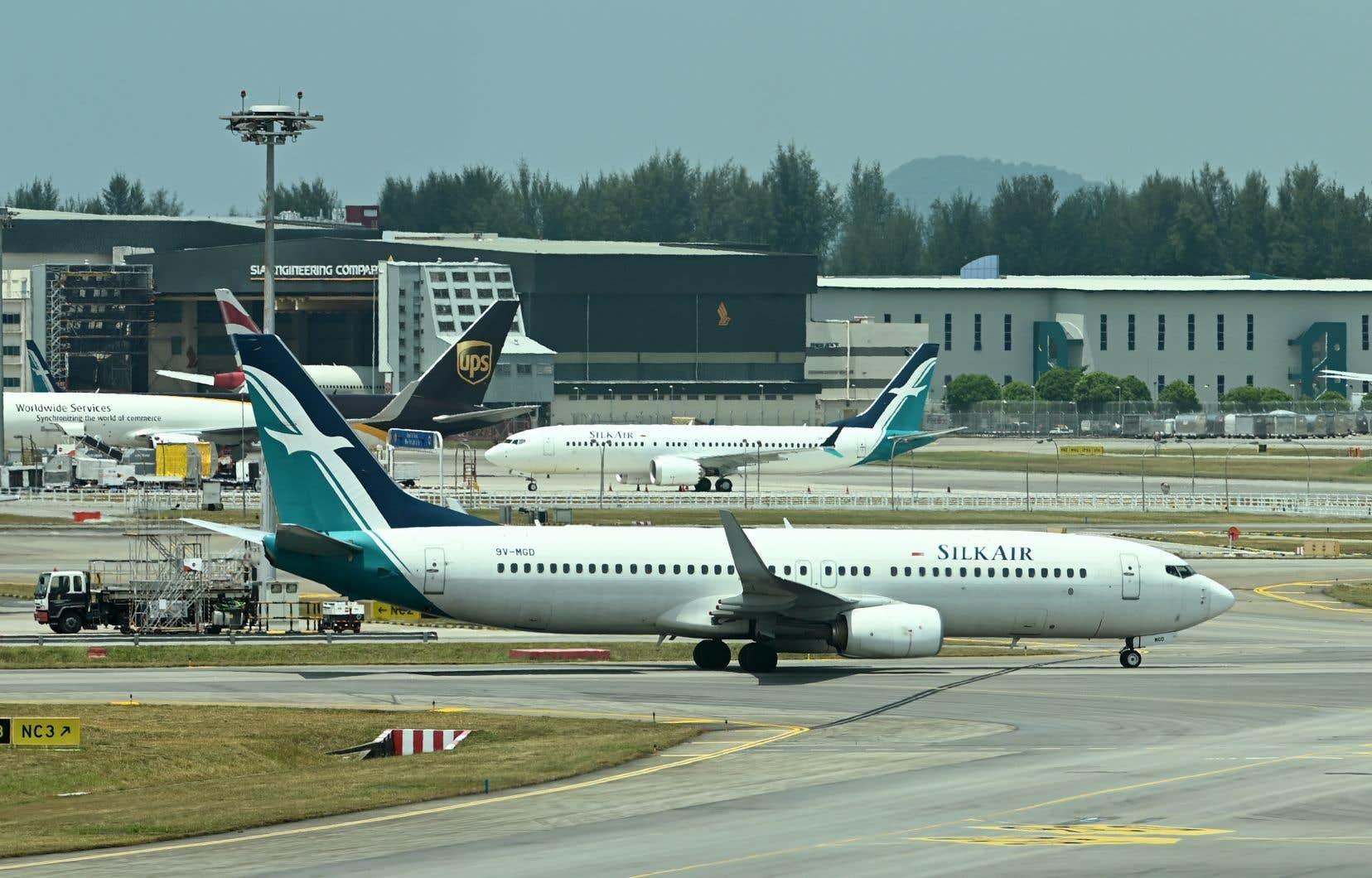 <p>Les 737 MAX 8 sont la locomotive des ventes et des bénéfices de Boeing. 350 exemplaires de cet avion, entré en service en mai 2017, volent actuellement.</p>