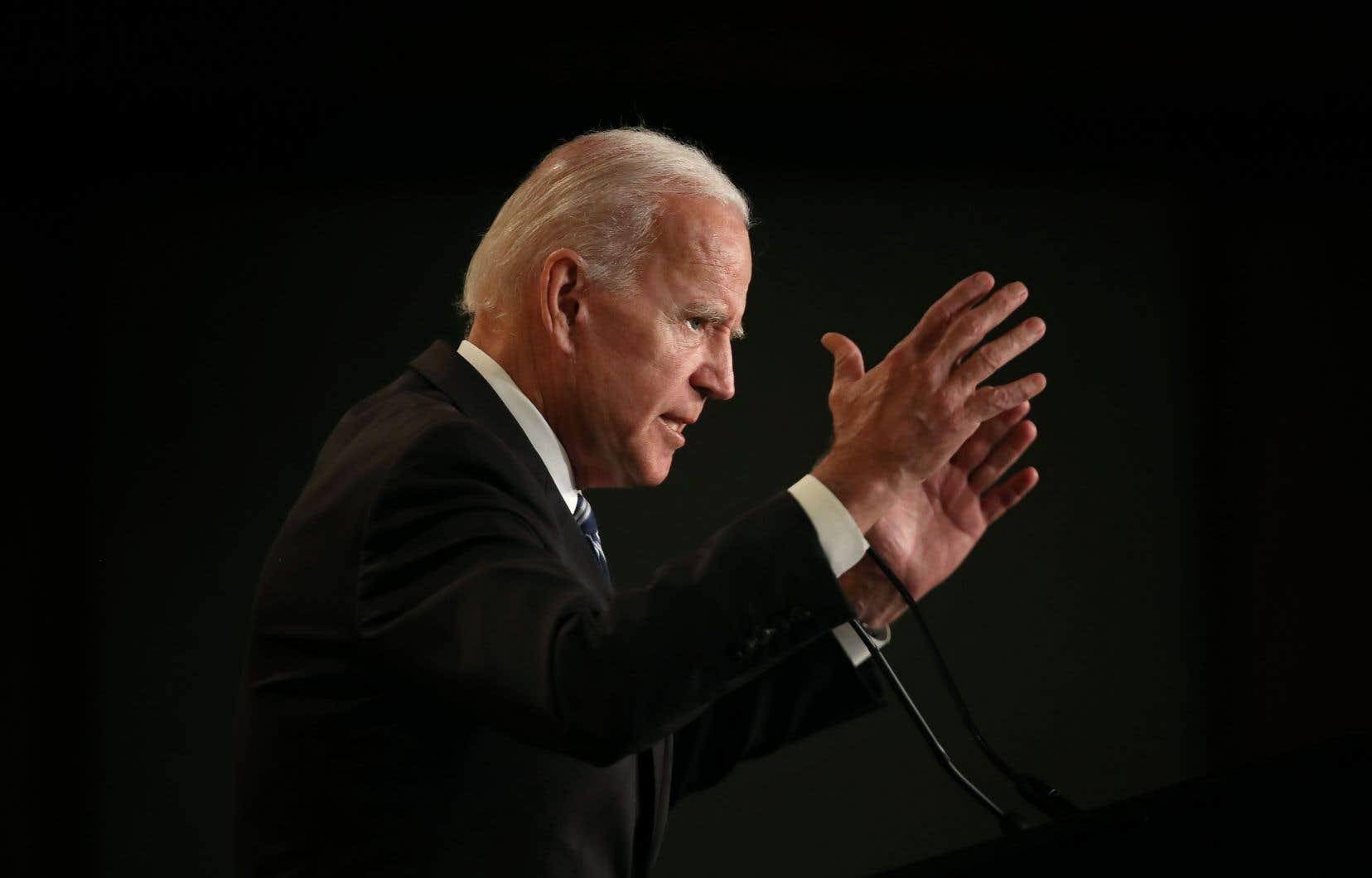 Grand nom du parti démocrate, Joe Biden est depuis des mois pressenti pour rejoindre la course à l'investiture.