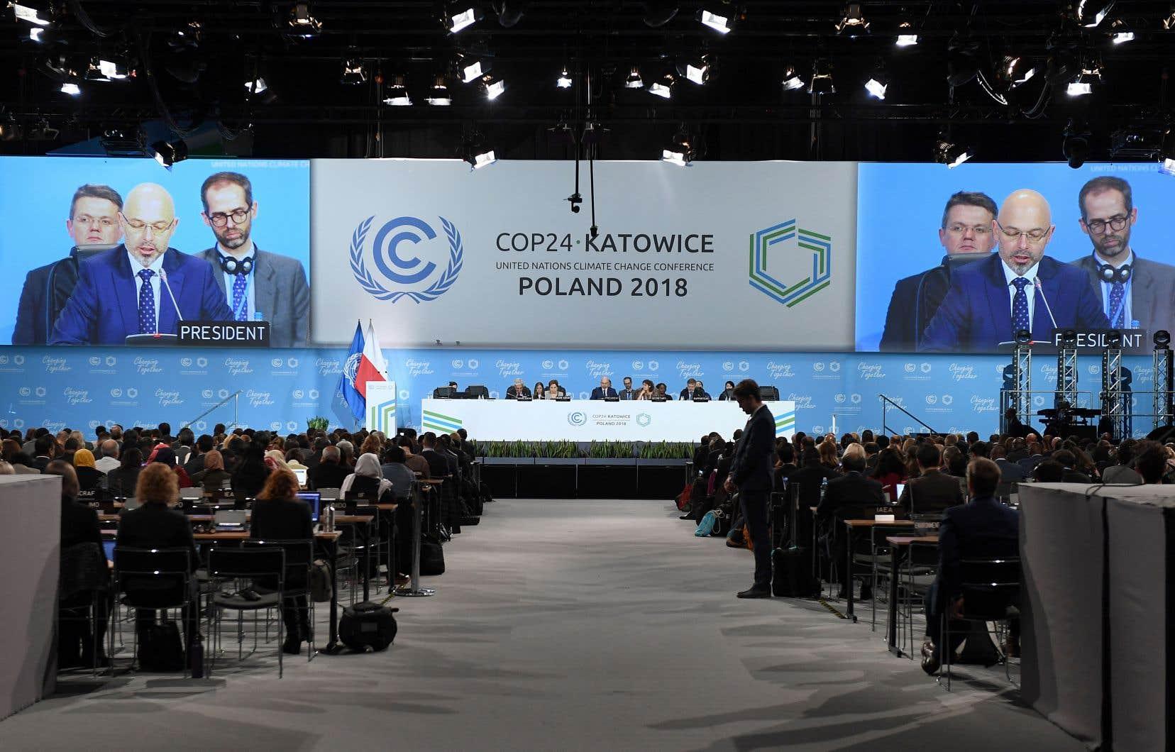 La 24e Conférence des Parties à la Convention-cadre des Nations unies sur les changements climatiques à Katowice, en Pologne, en décembre dernier