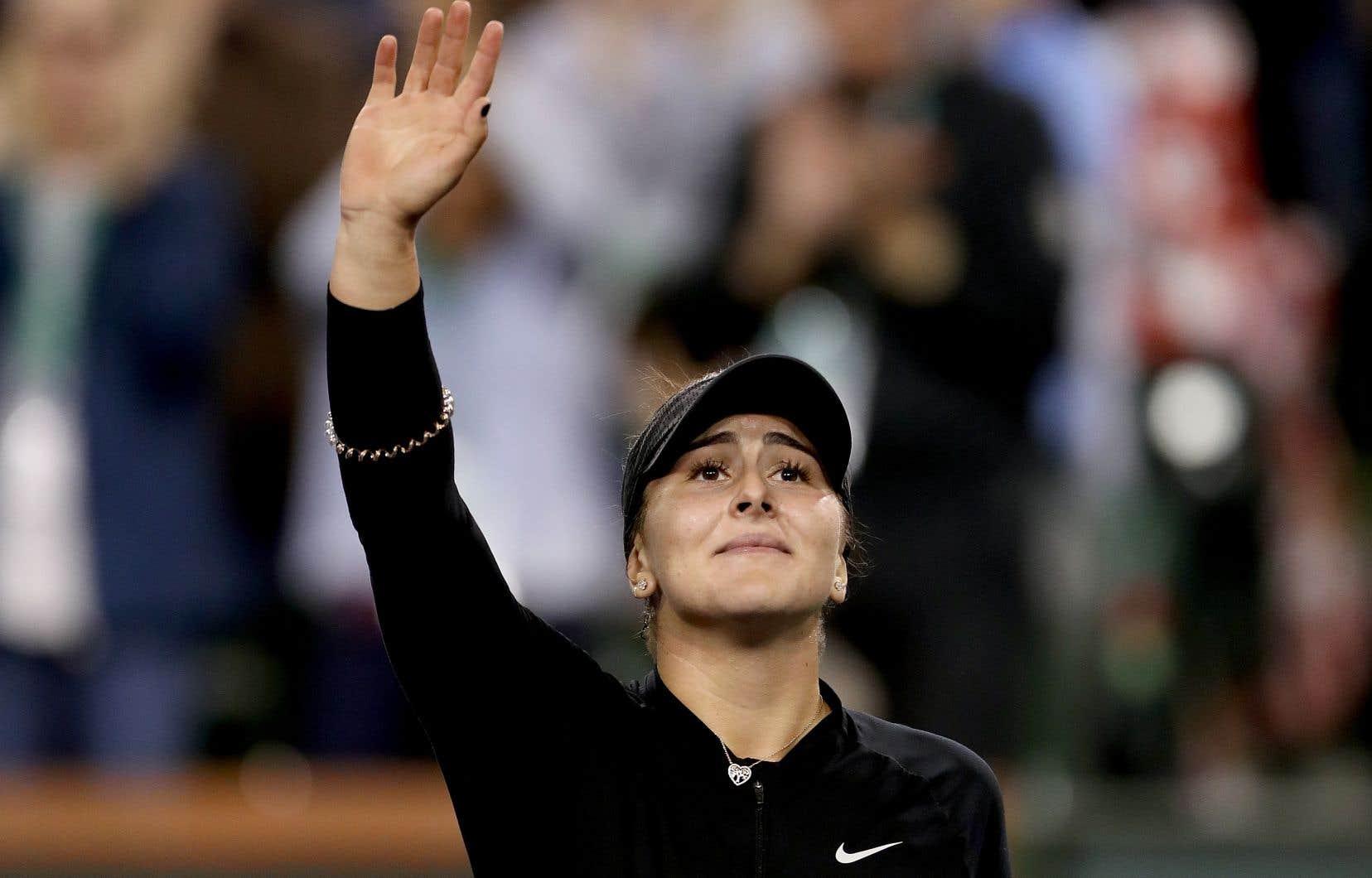 À 18 ans seulement, Bianca Andreescu en a épaté plus d'un depuis le début de l'année, passant du 152e au 60e rang mondial depuis janvier.