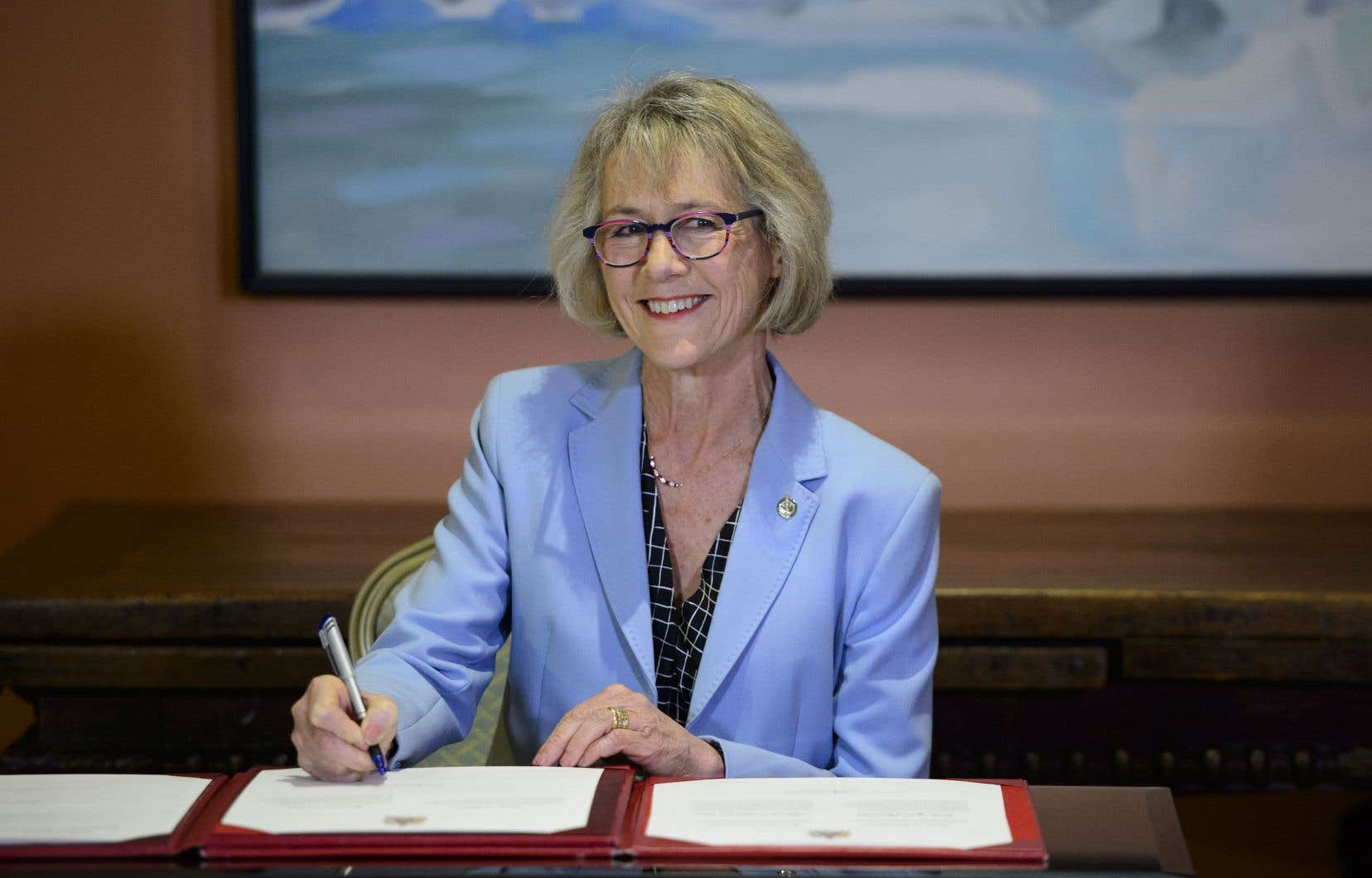 La décision de promouvoir Joyce Murray a été prise après que la députée ontarienne Jane Philpott eut quitté le gouvernement à la suite de la controverse liée à SNC-Lavalin.
