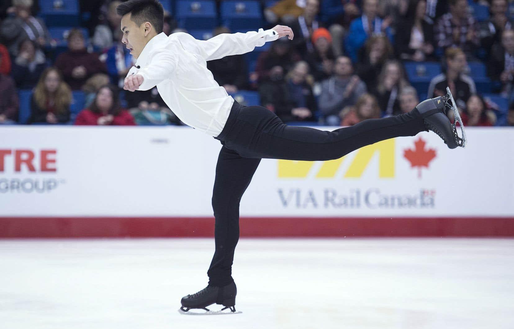 Nam Nguyen ne s'est pas qualifié pour le programme libre depuis les Mondiaux de 2015.
