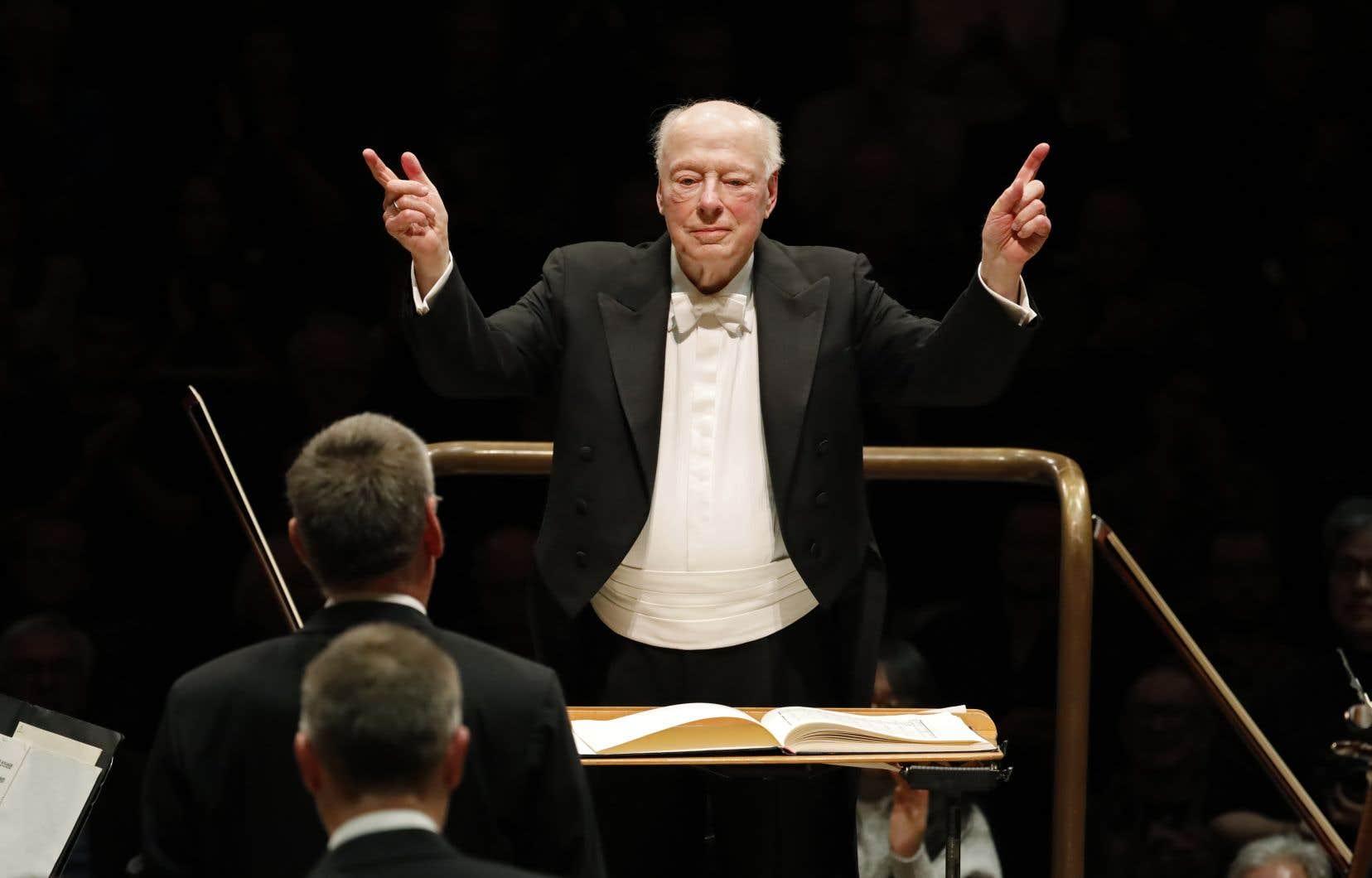 Le chef d'orchestre néerlandais,Bernard Haitink