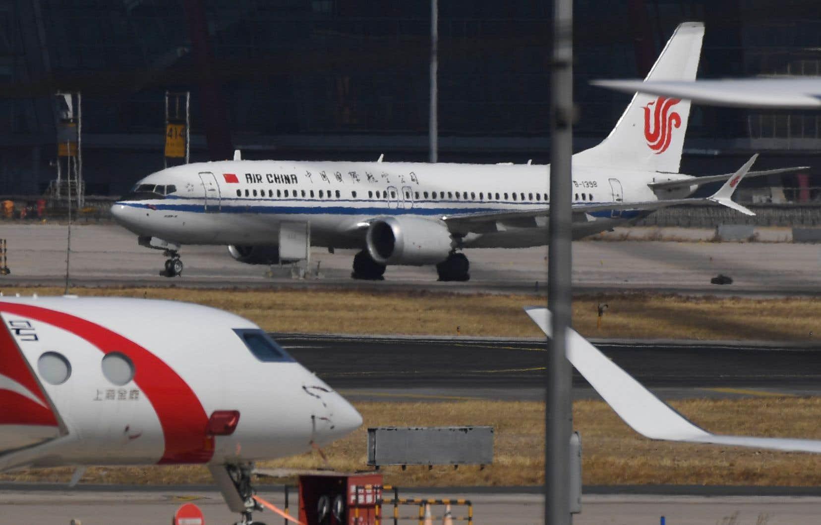 La Chine avait signé un accord portant sur l'achat de 300 appareils Boeing, dont 260 de la famille 737.