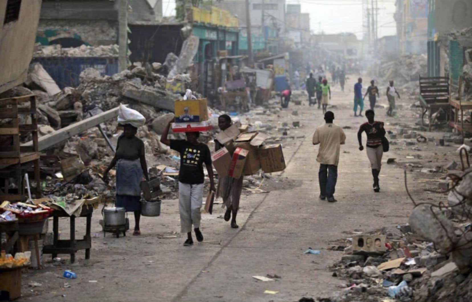 Le regroupement responsable du canular avait laissé croire que la France verserait 17 milliards d'euros pour la reconstruction d'Haïti, victime d'un séisme le 12 janvier dernier.<br />