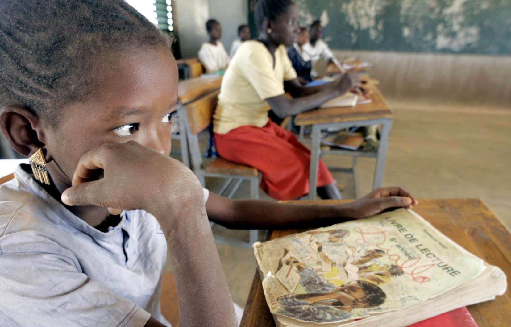 En Afrique subsaharienne, plus de 30 millions d'enfants ne sont pas encore scolarisés.