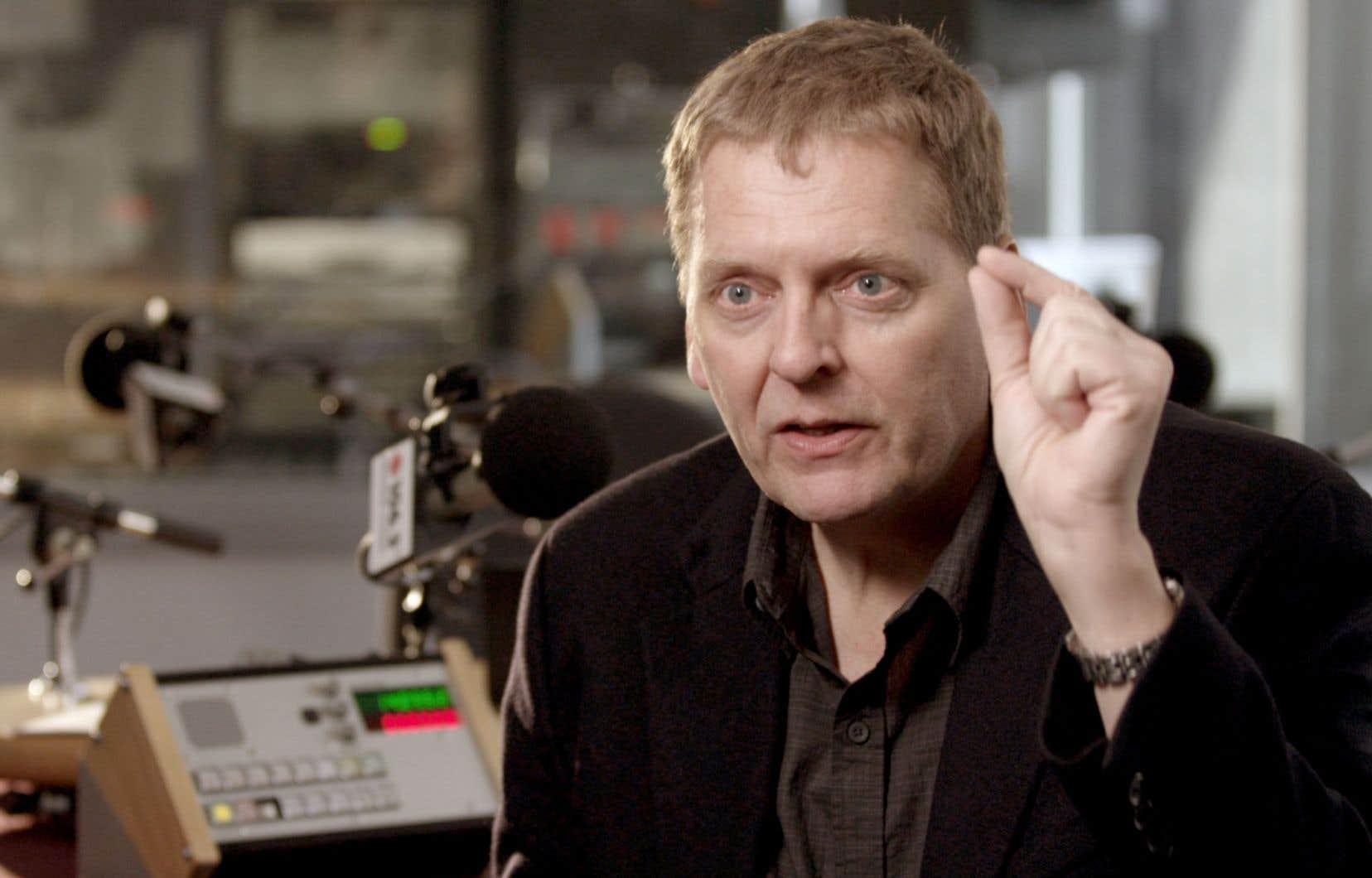 Alain Crevier animait «Second regard» depuis 1995.