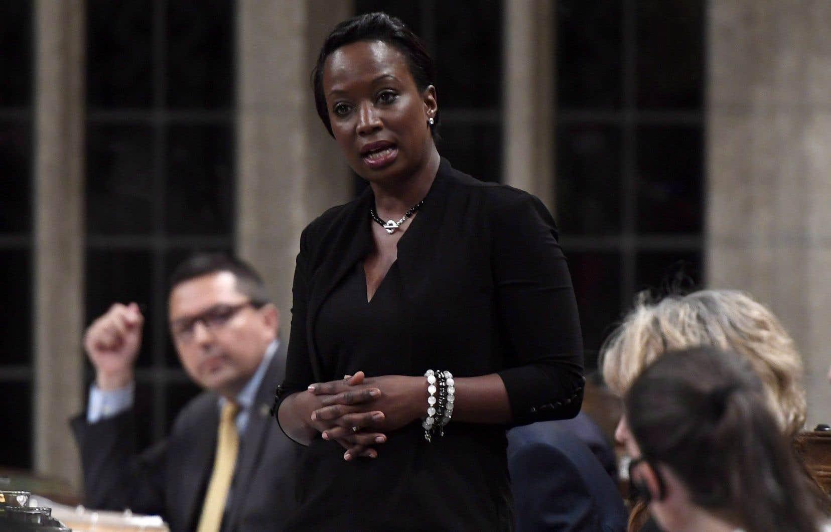 La députée ontarienne de Whitby, Celina Caesar-Chavannes, s'était distanciée du premier ministre Justin Trudeau dans les dernières semaines.