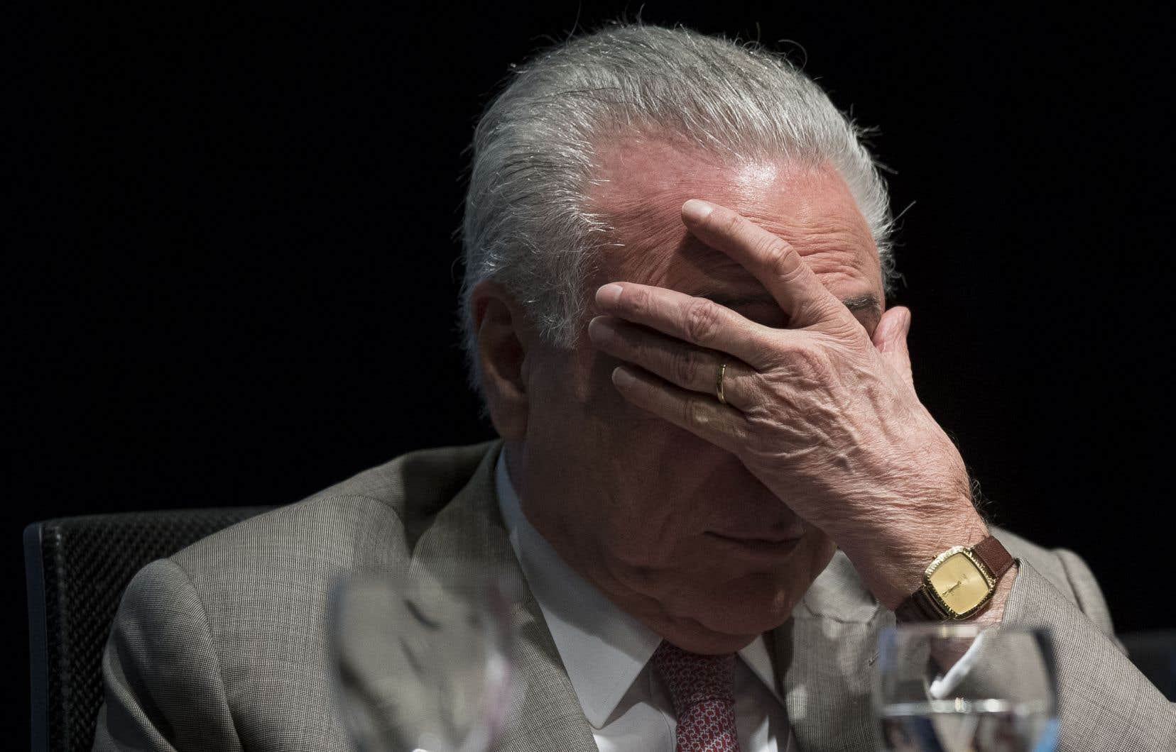 Michel Temer, qui a quitté le pouvoir à la fin 2018 après près de deux ans et demi de mandat, fait l'objet de plusieurs enquêtes pour corruption.