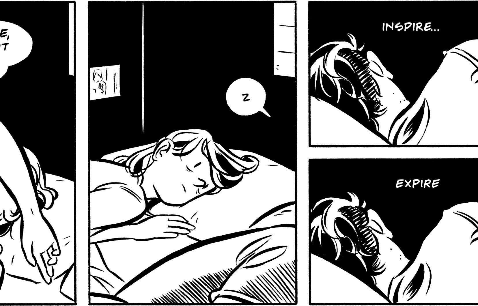 Le dessin de Hartley Lin, avec une ligne claire, nette et sans compromis, laisse assez de place au réalisme tout en permettant des expressions faciales aisément compréhensibles.