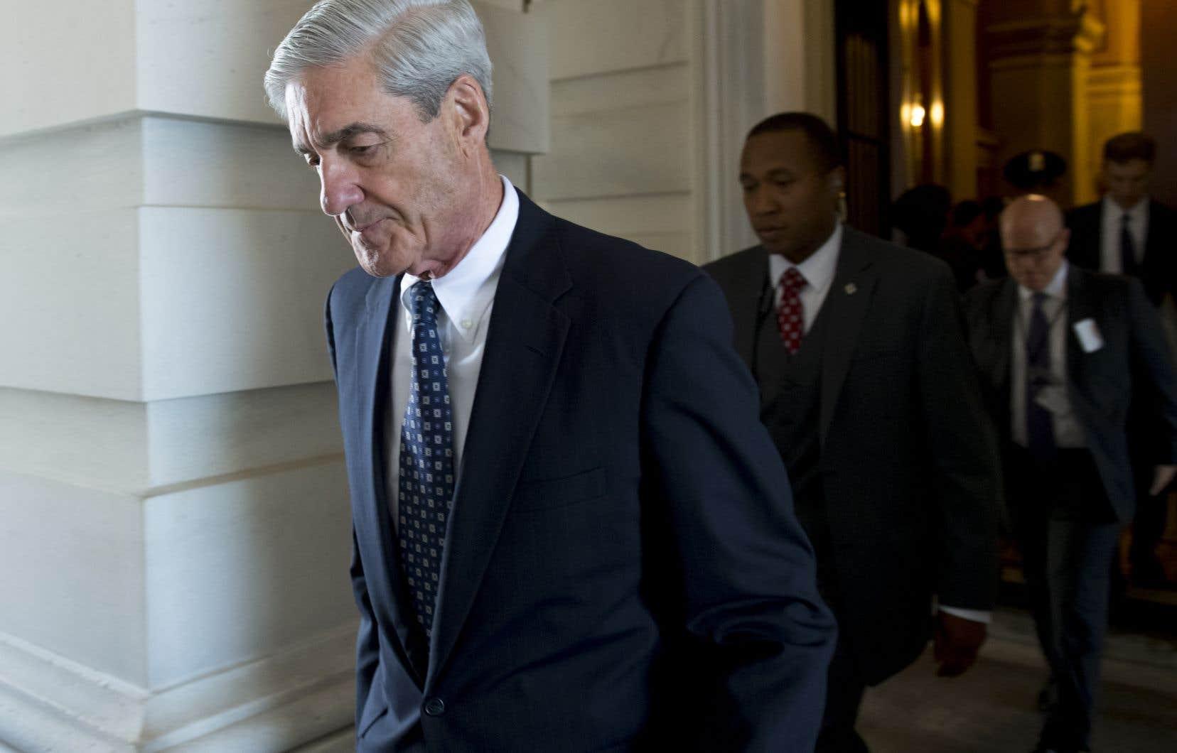 Le procureur spécial Robert Mueller, chargé d'enquêter sur l'ingérence russe lors des élections américaines de 2016