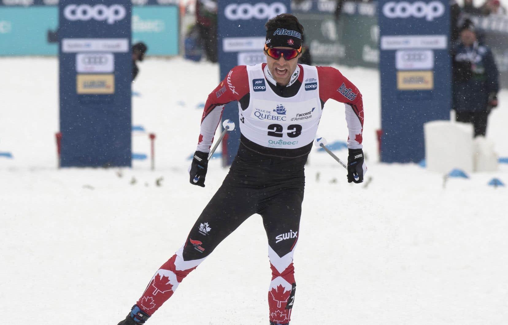 Le skieur québécois Alex Harvey