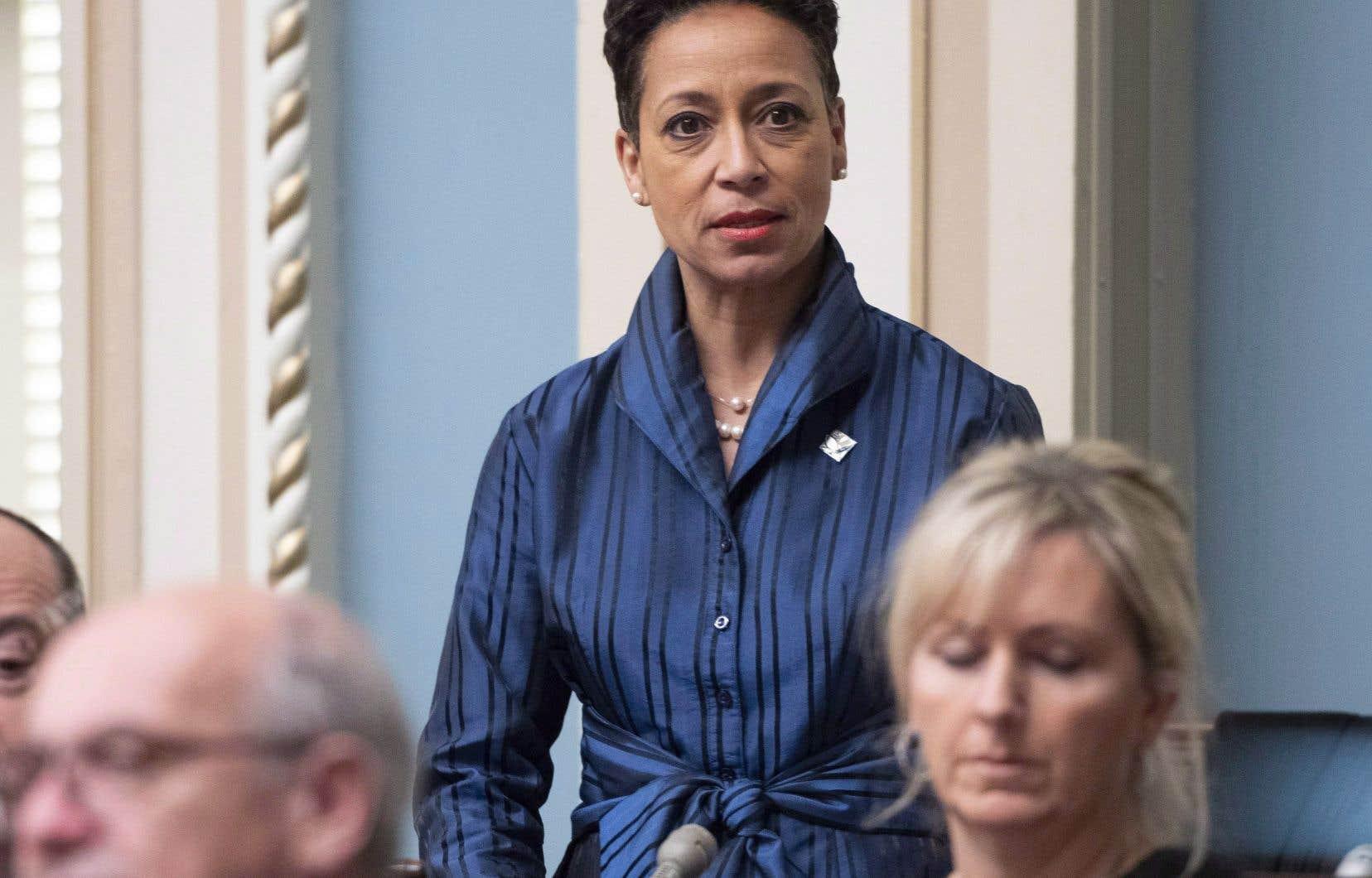 La diplomatie québécoise doit prendre «un virage plus économique», a insisté MmeGirault.
