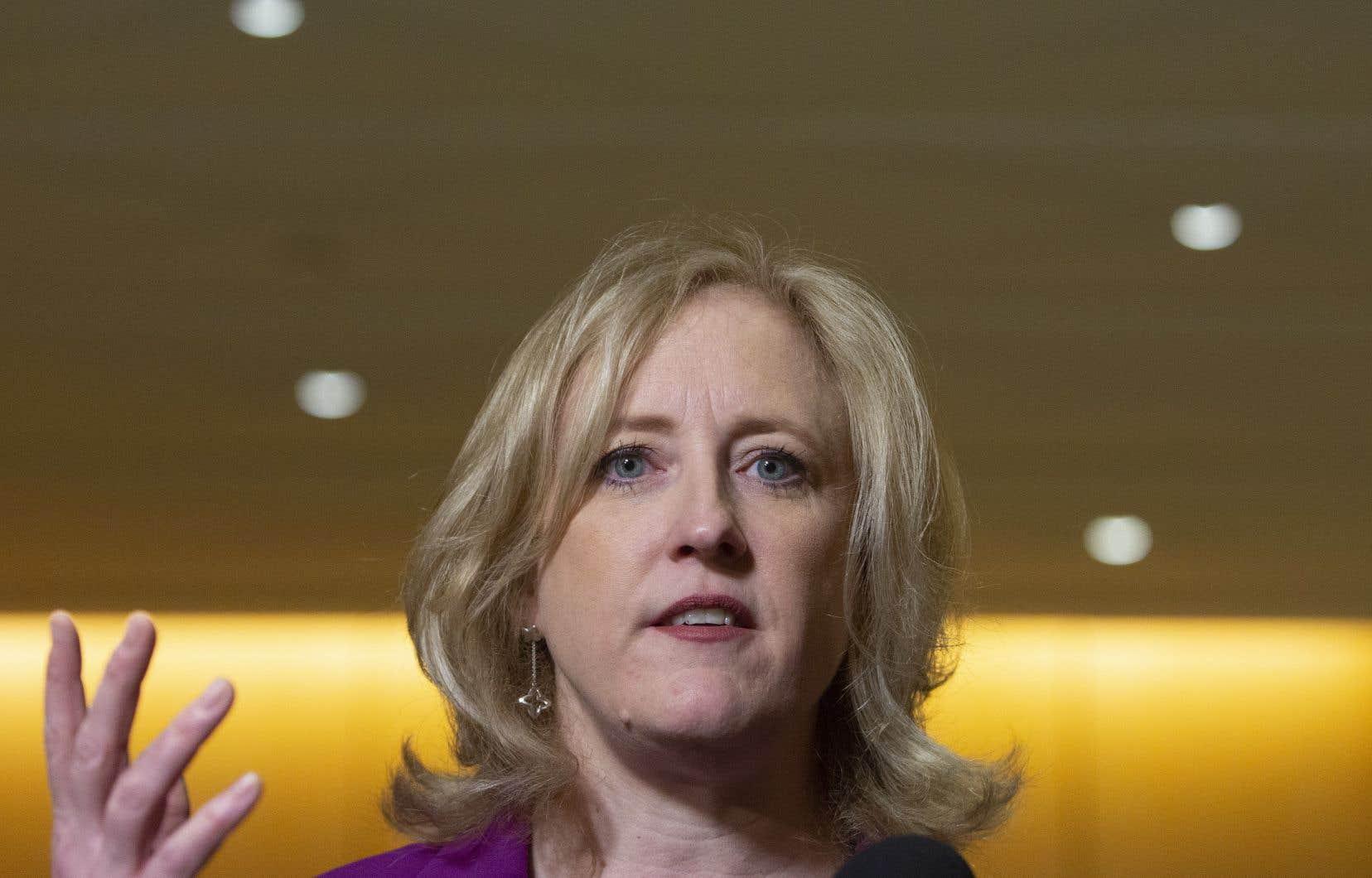 La porte-parole conservatrice en matière de justice,Lisa Raitt