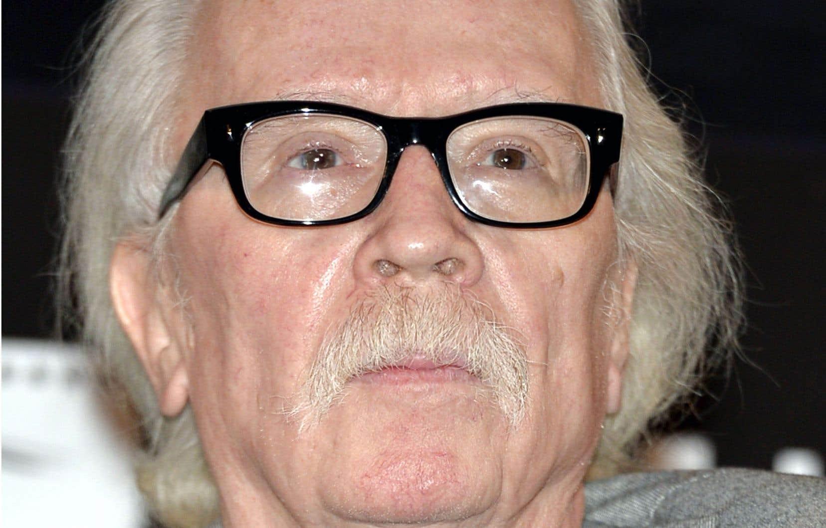 Le réalisateur américain John Carpenter à Hollywood, en mai 2013