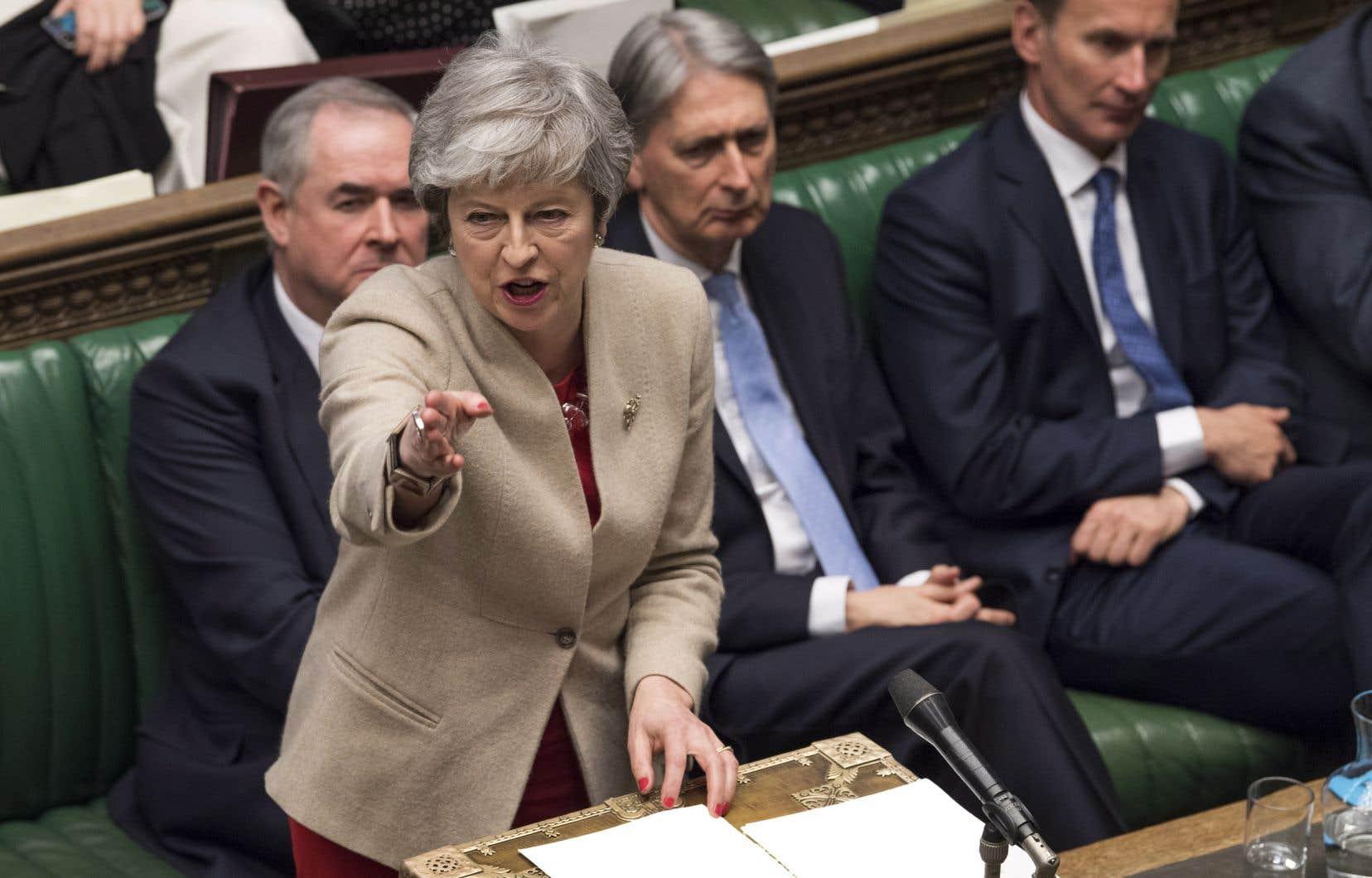 «Les conséquences de la décision de la Chambre sont graves», a indiqué la première ministre Theresa May.