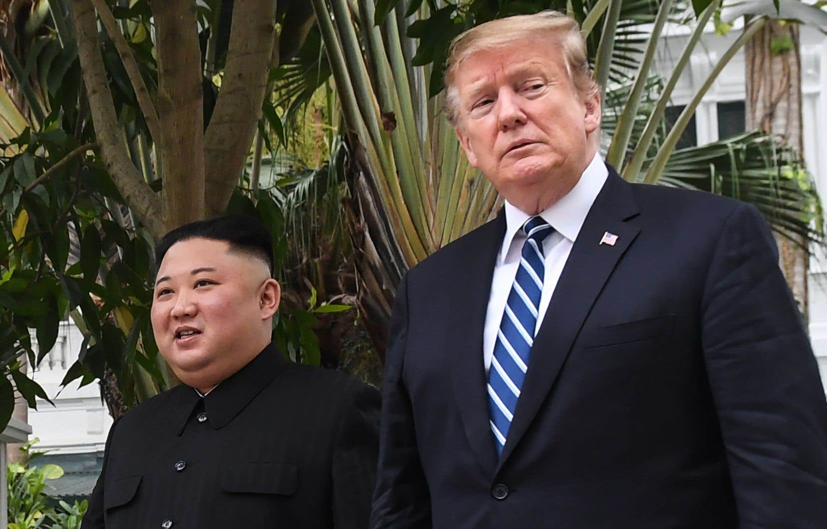 Les deux camps ont toutefois promis de reprendre les discussions, même si Pyongyang s'est depuis montré moins ouvert.