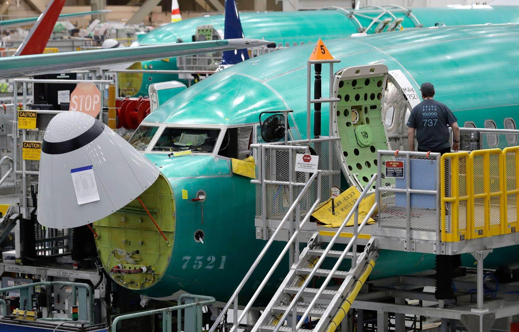 Le logiciel anti-décrochage a été installé sur les 737 Max pour compenser les problèmes aérodynamiques posés par le changement d'emplacement et le poids des deux moteurs.
