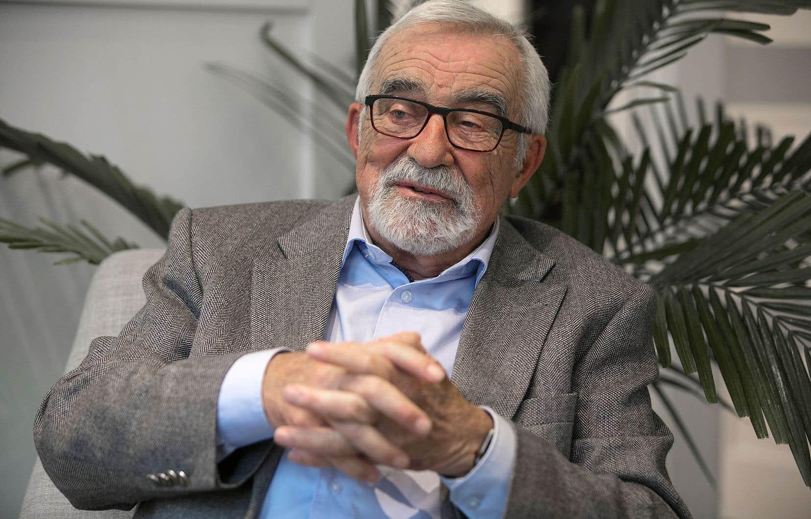 Âgé de 82 ans, Bernard Lemaire nourrit de nouveaux projets.