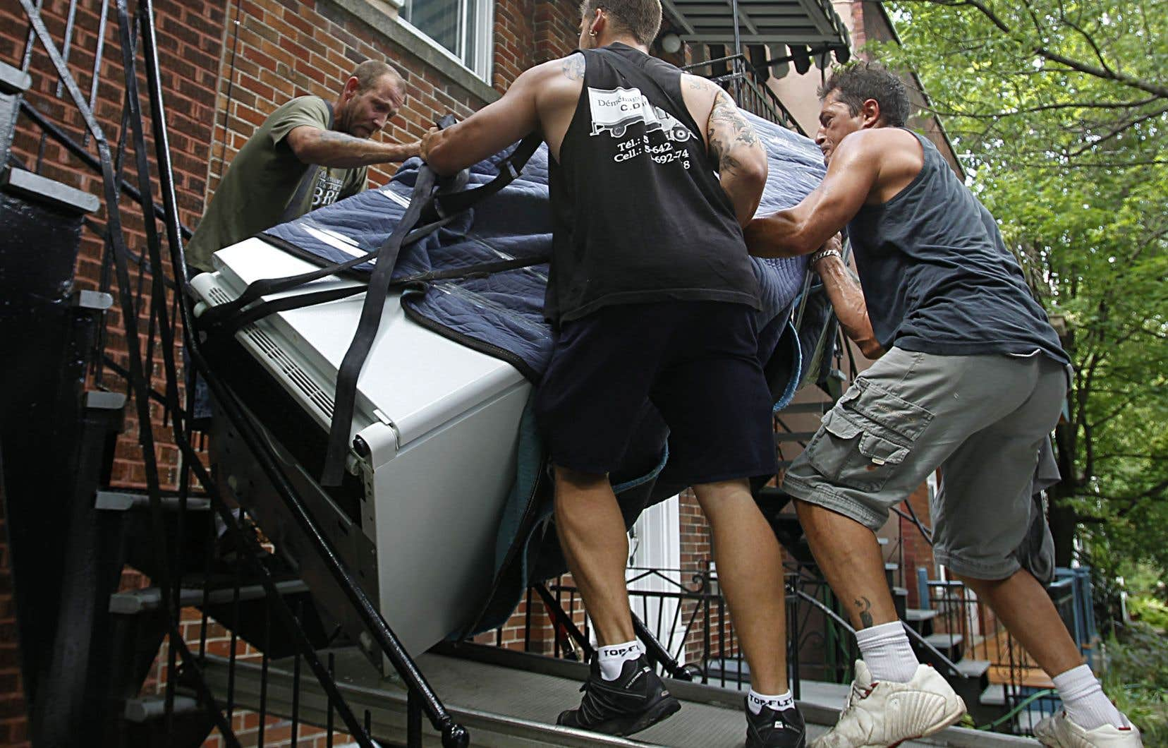 La prochaine période de déménagement pourrait être éprouvante pour des familles montréalaises.