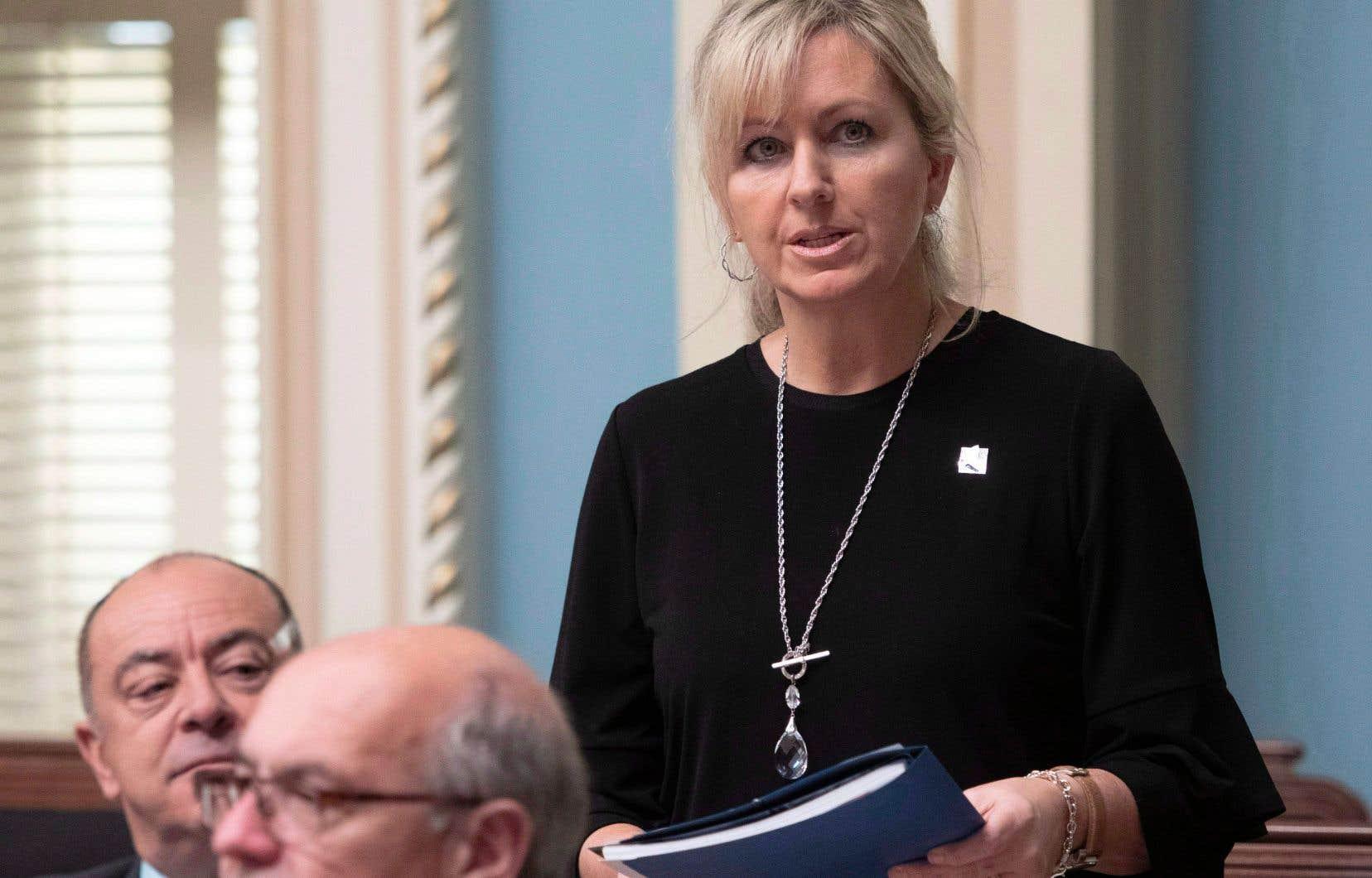 La ministre Andrée Laforest a présenté mercredi un projet de loi qui donne plus de marge de manœuvre au Tribunal administratif du logement, la nouvelle appellation de la Régie du logement du Québec.