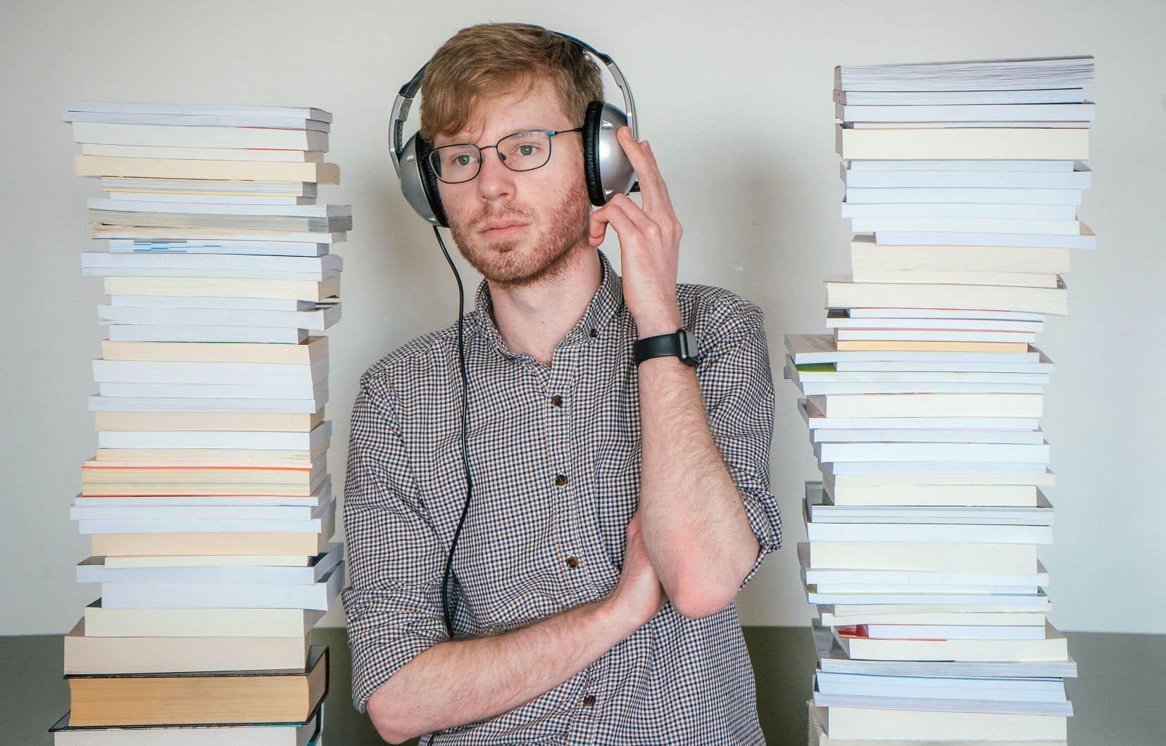 La popularité des audiolivres grandit. À la Grande Bibliothèque, le nombre de prêts de livres sonores en ligne est passé de 45 000 à environ 90 000 en trois ans.