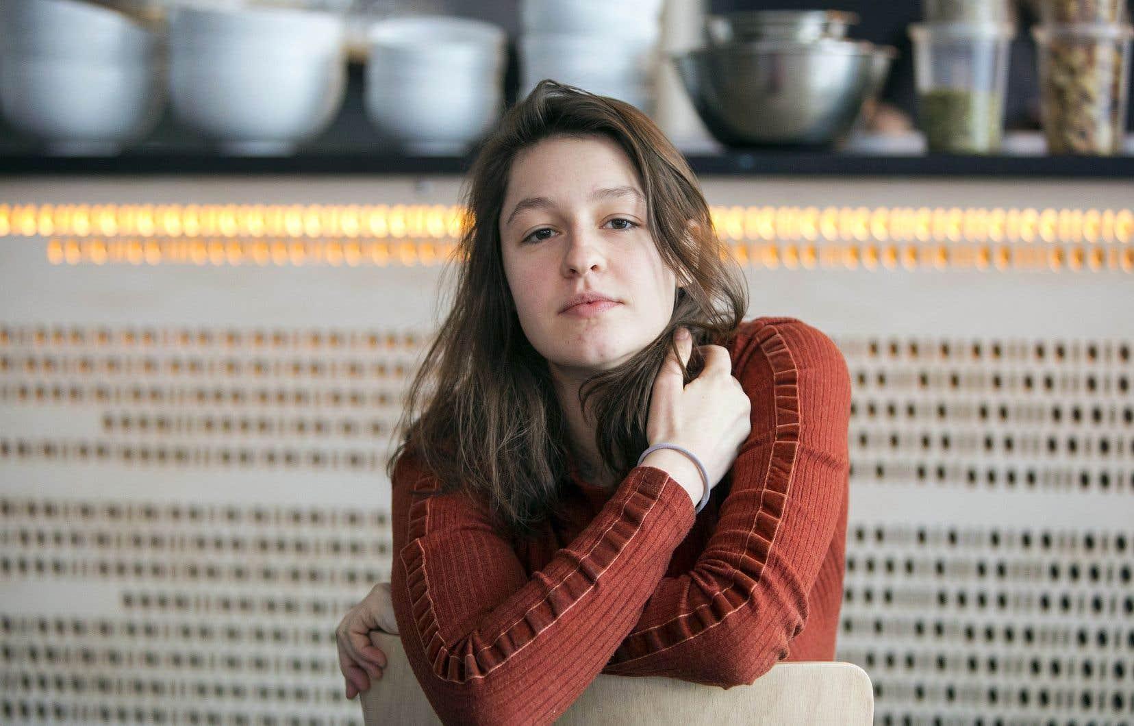 Lou-Adriane Cassidylançait jeudi soir à la Sala Rossason premier album, intitulé «C'est la fin du monde».