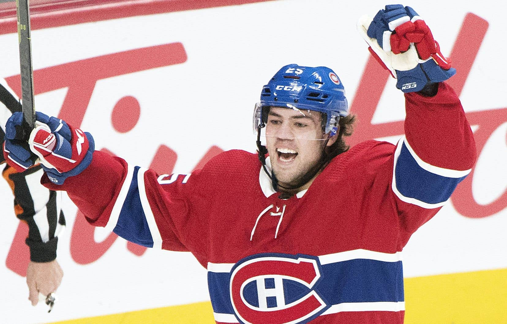 Le centre recrue du Canadien Ryan Poehling